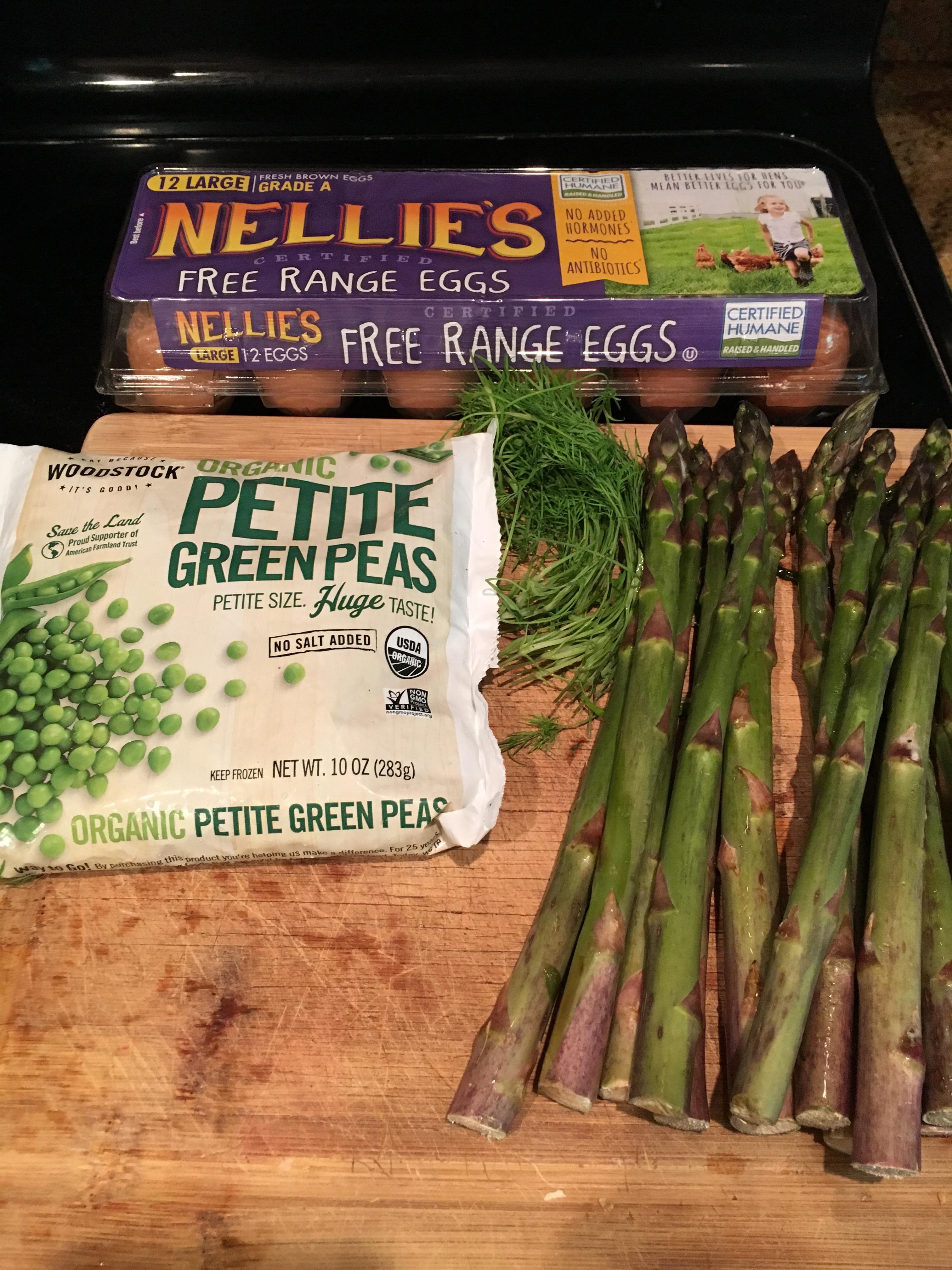 quiche recipe  Asparagus, Spinach and Pea Quiche with Nellie's Eggs