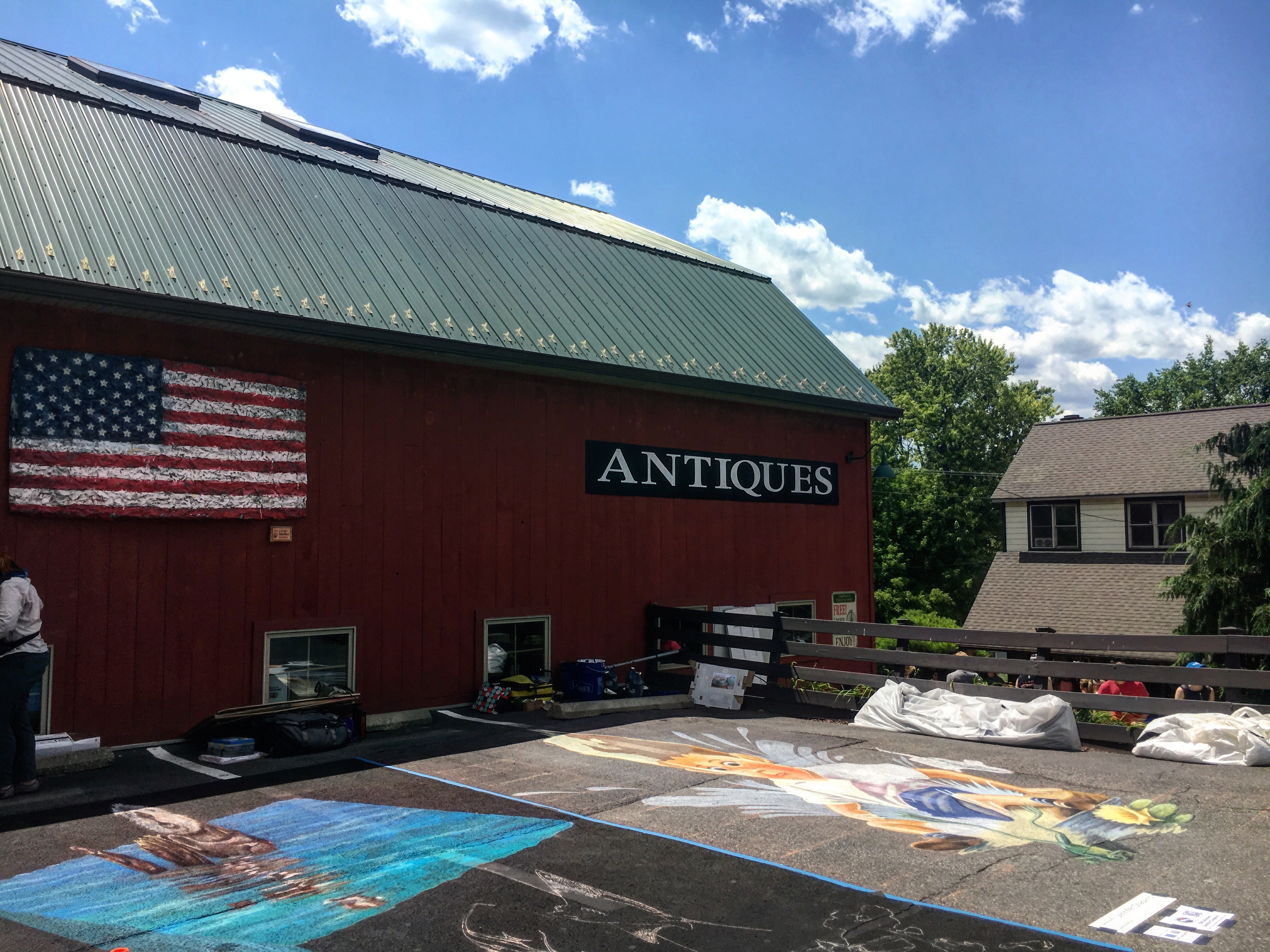 hudson valley chalk festival antiques