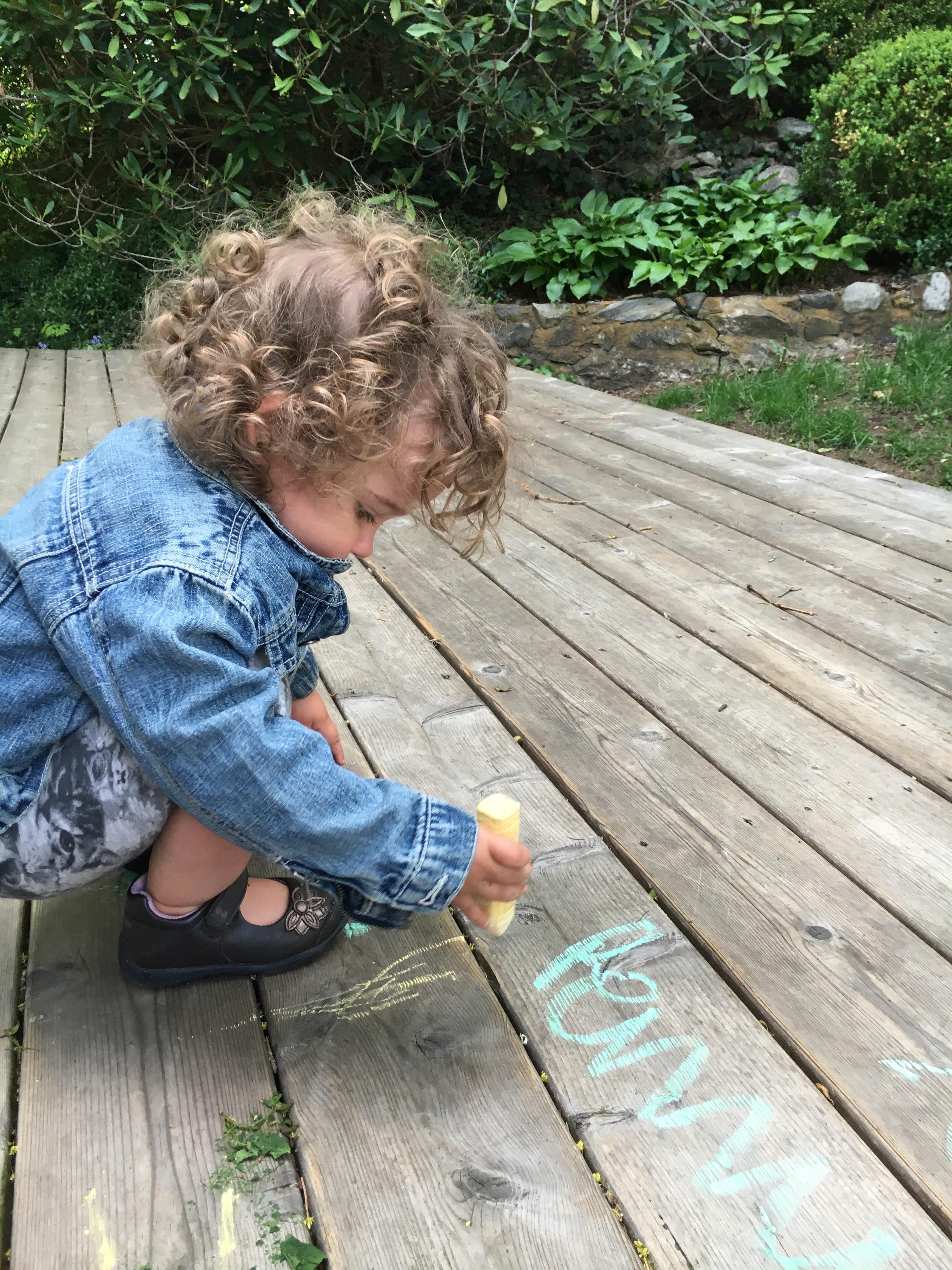 summer essentials chalk