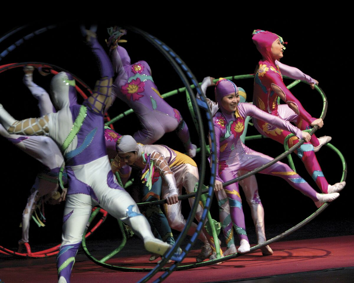 Brooklyn Center for the Performing Arts Golden Dragon Acrobats