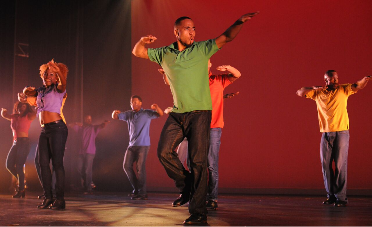 Brooklyn Center for the Performing Arts step afrika