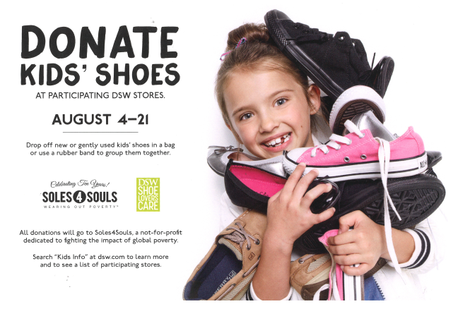 Soles4Souls Back-to-School Donation Drive