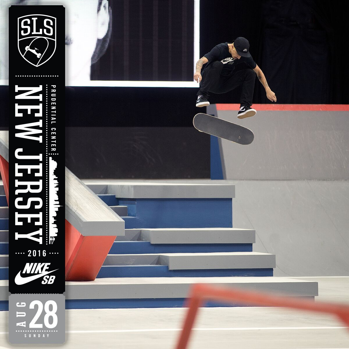 2016 Street League Skateboarding (SLS) Nike SB World Tour in New Jersey