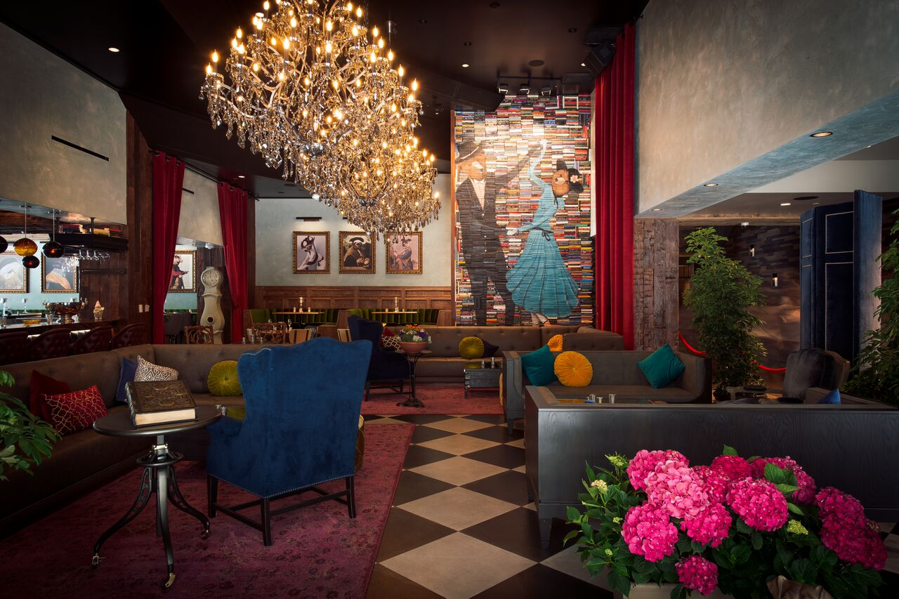Whimsical Décor at the Tuck Room Tavern in Los Angeles