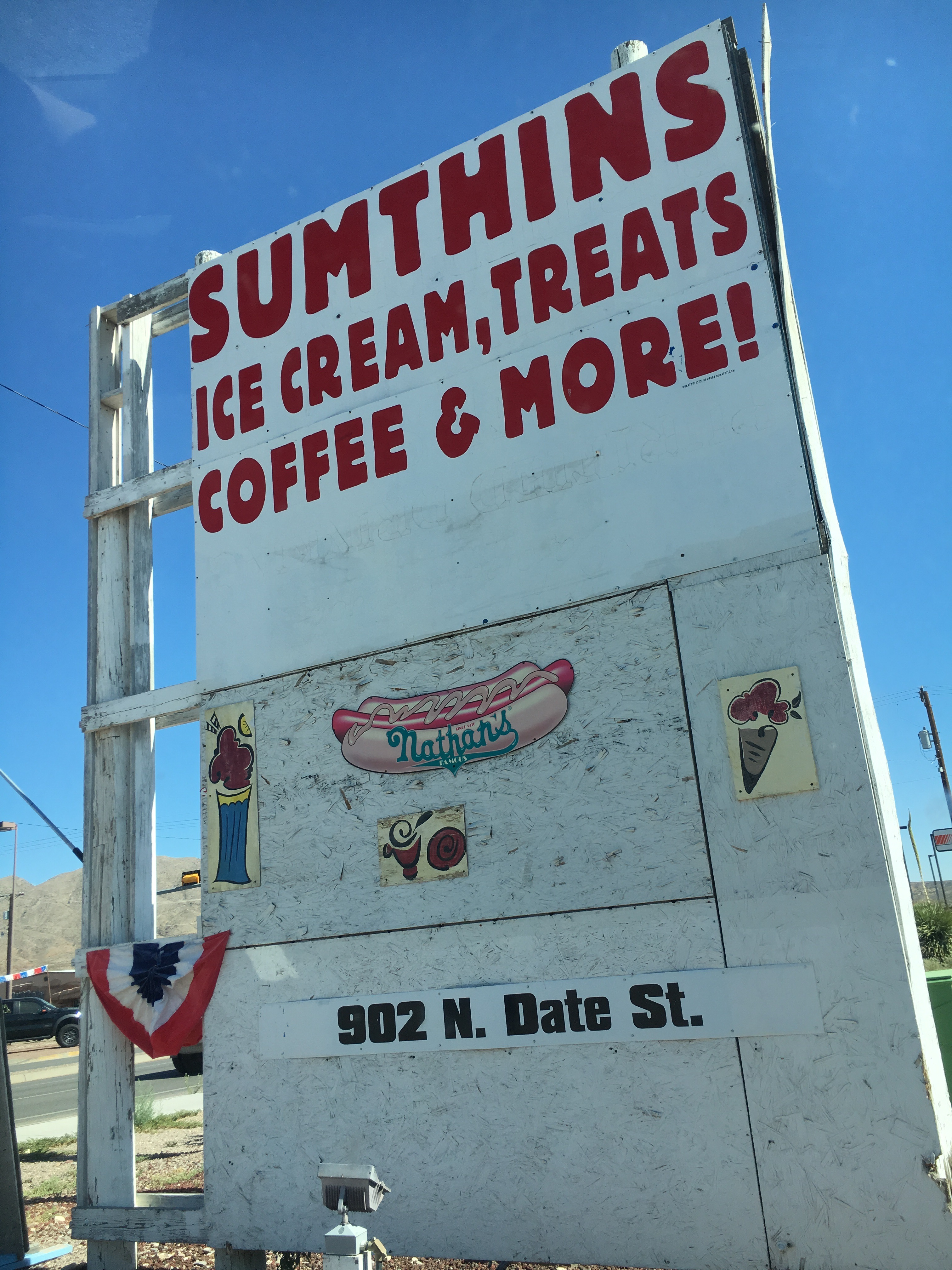Sumthins Ice Cream and Sandwich Shop