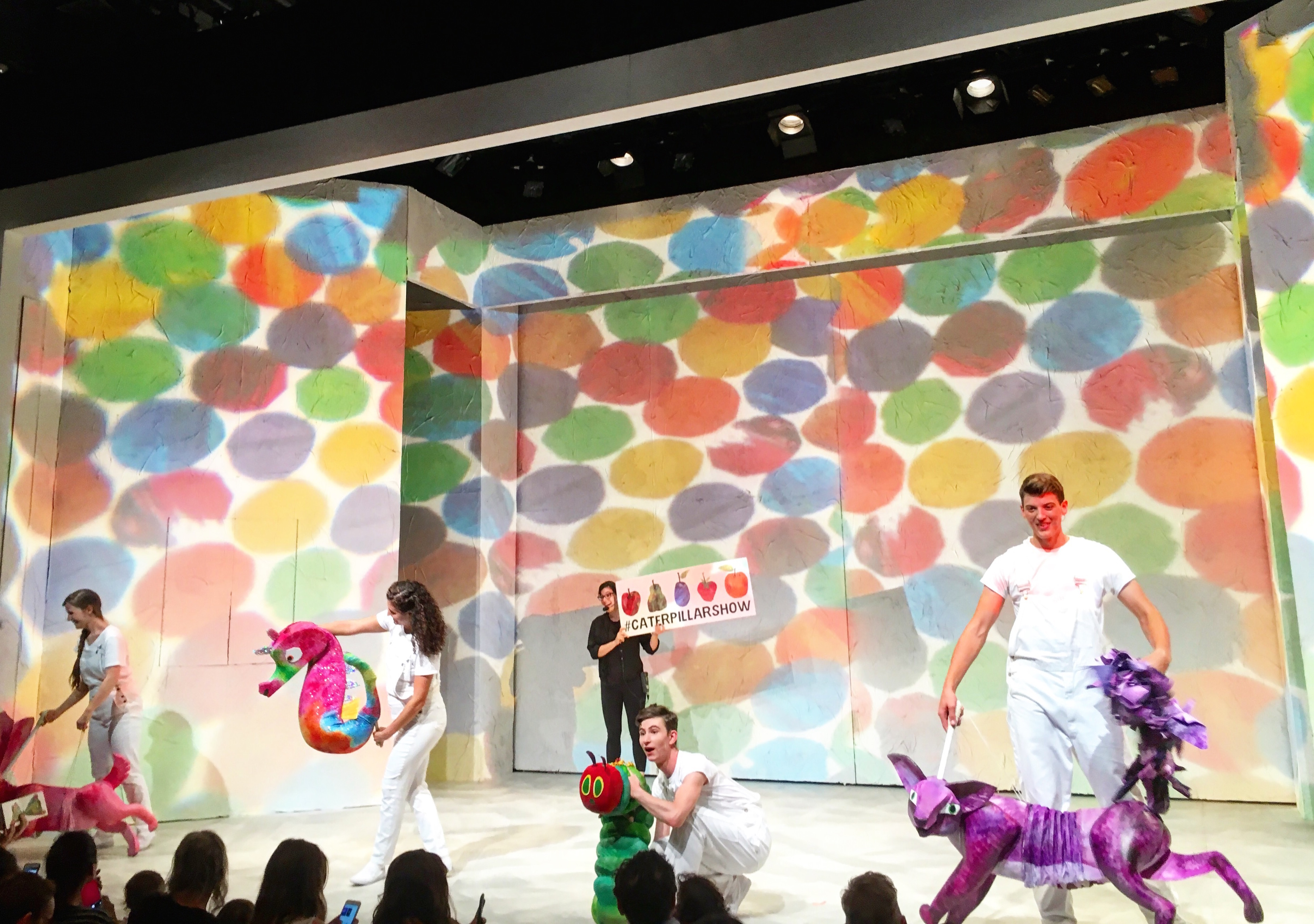 Review The Very Hungry Caterpillar Show For A First West End Experience Kids Mummy In The City