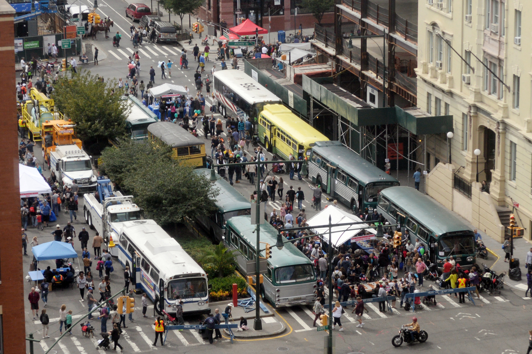 The NY Transit Museum Bus Festival