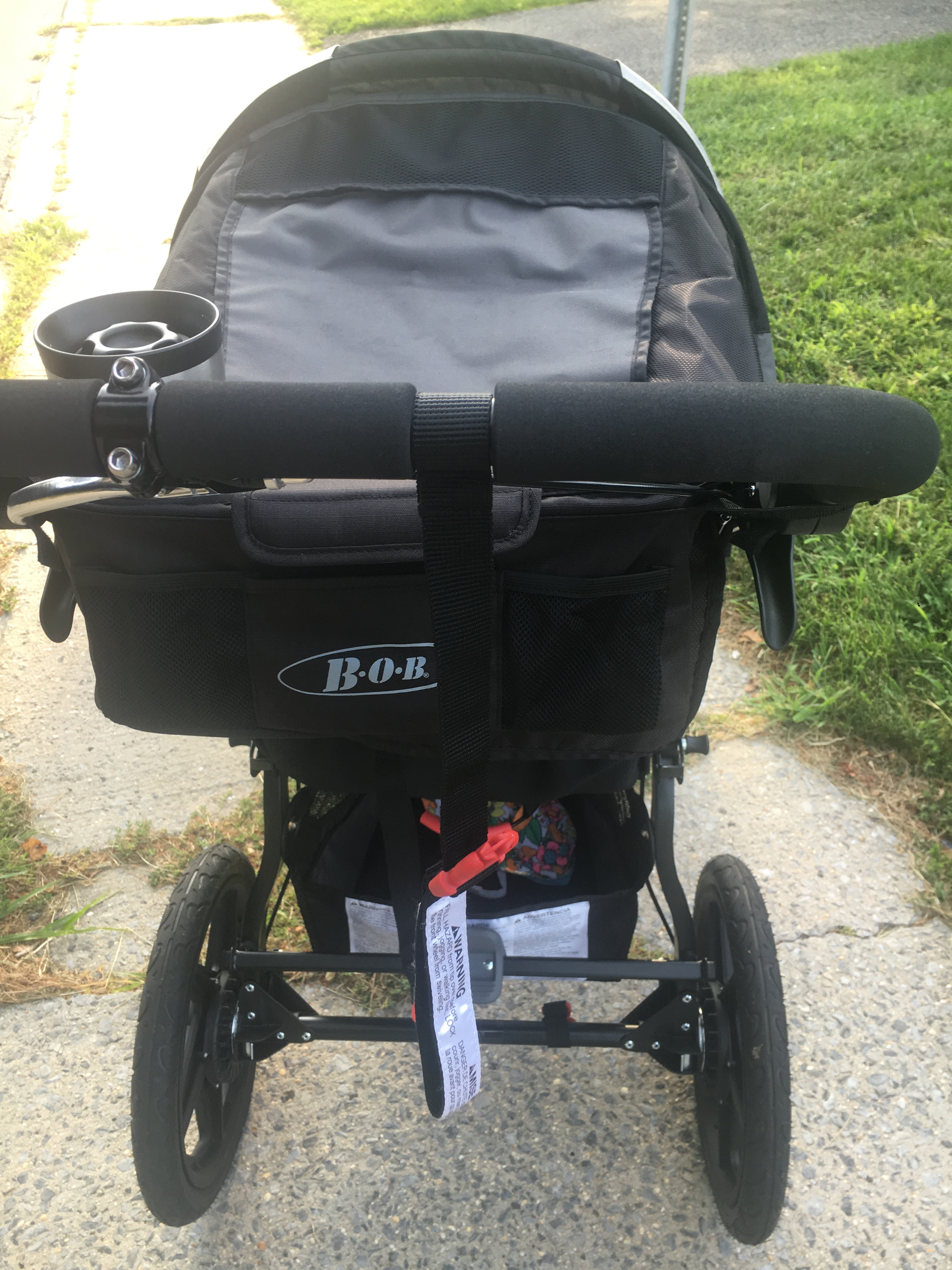 back view of BOB PRO revolution stroller