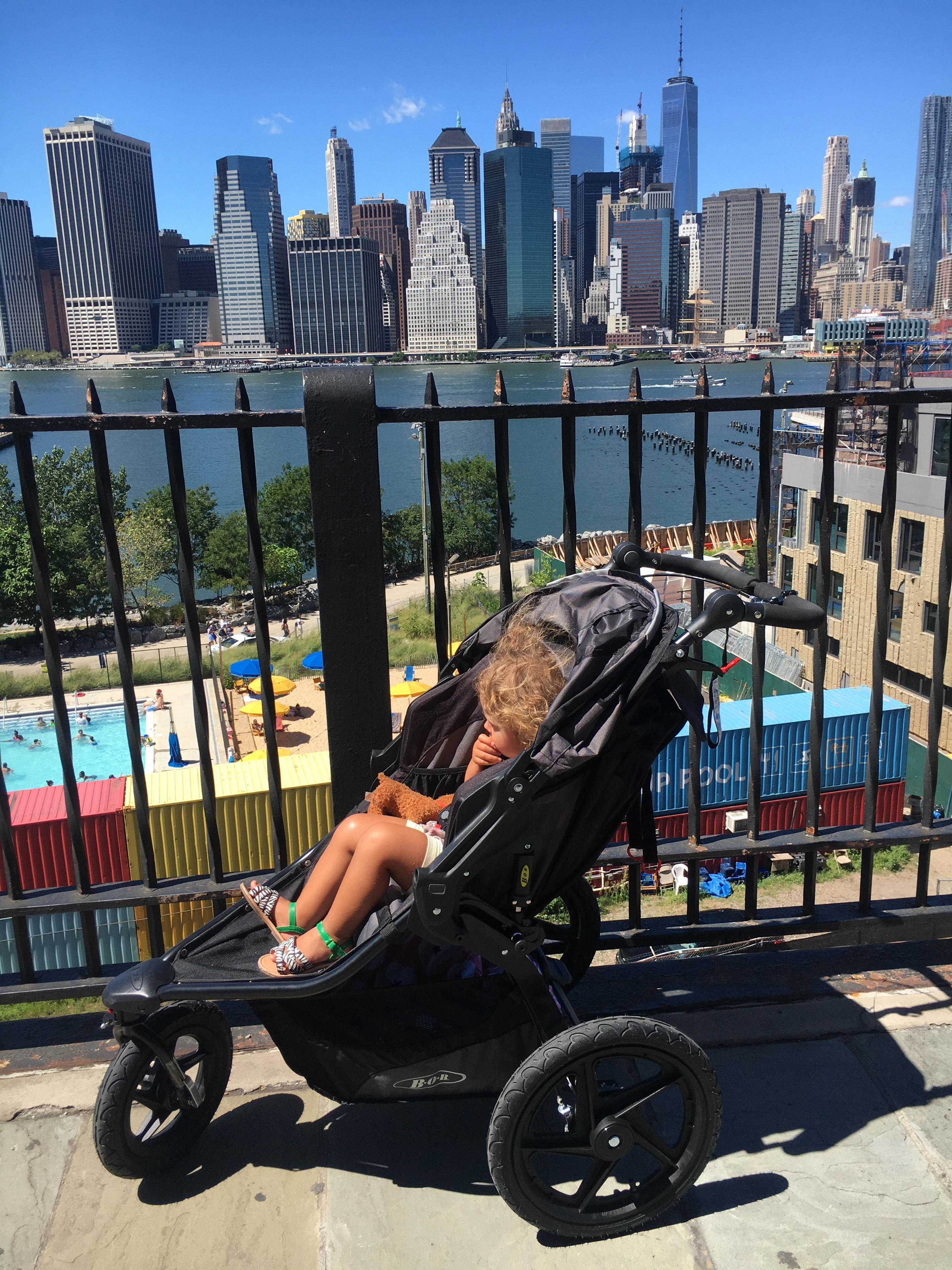 Getting My Run On with the BOB Revolution PRO Stroller