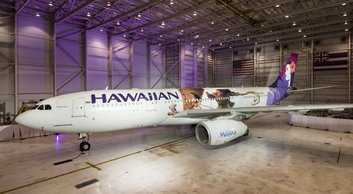 Moana and Hawaiian Airlines