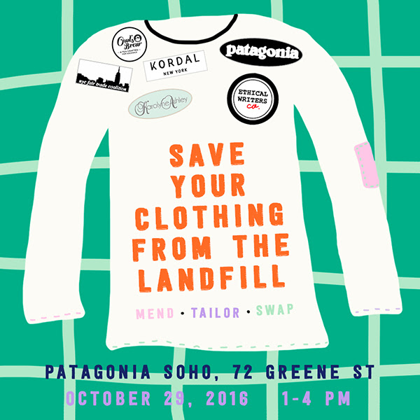 Fashion and Costume Swap: Save Your Clothing From the Landfill: Mend, Tailor, Swap
