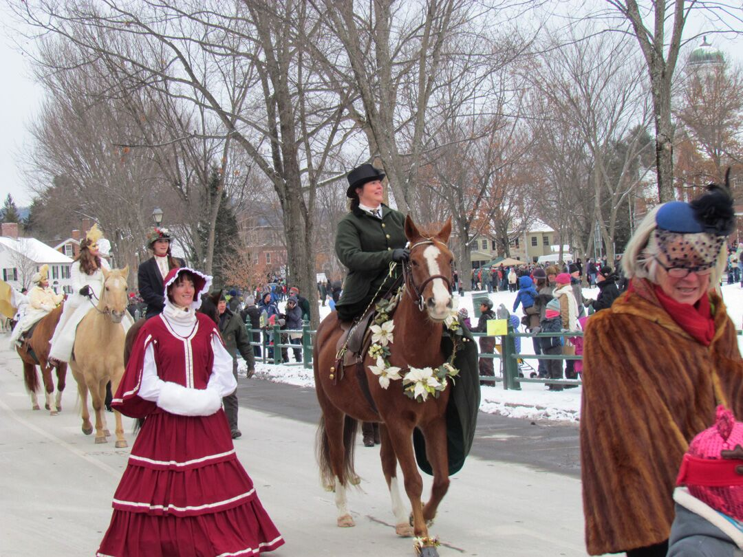 Wassail Weekend at the Woodstock Inn and Resort in Vermont