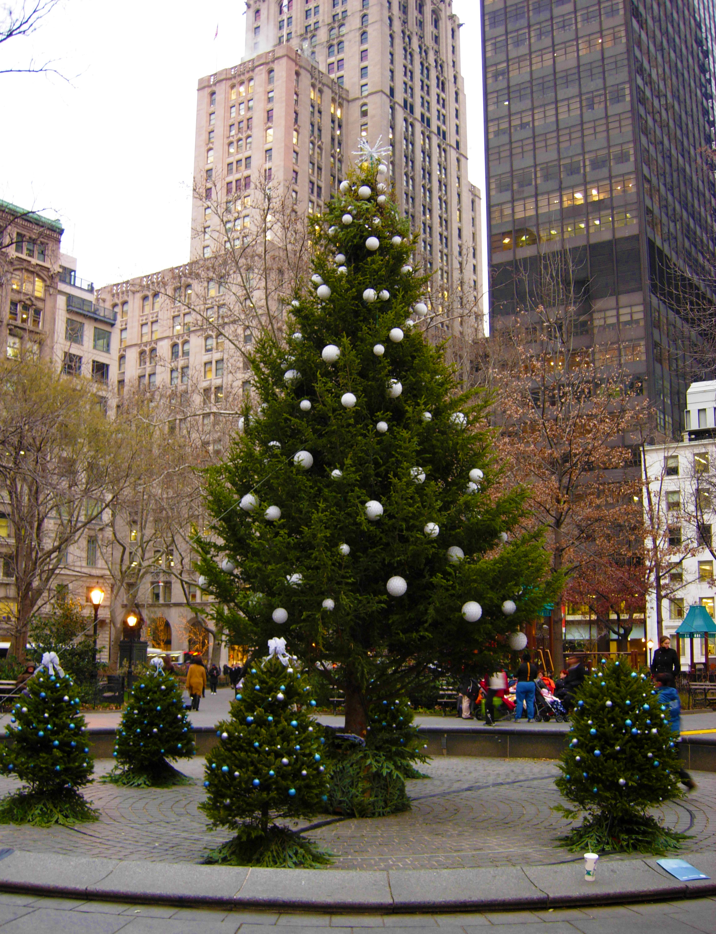 Madison Square Park Conservancy's Tree Lighting Ceremony