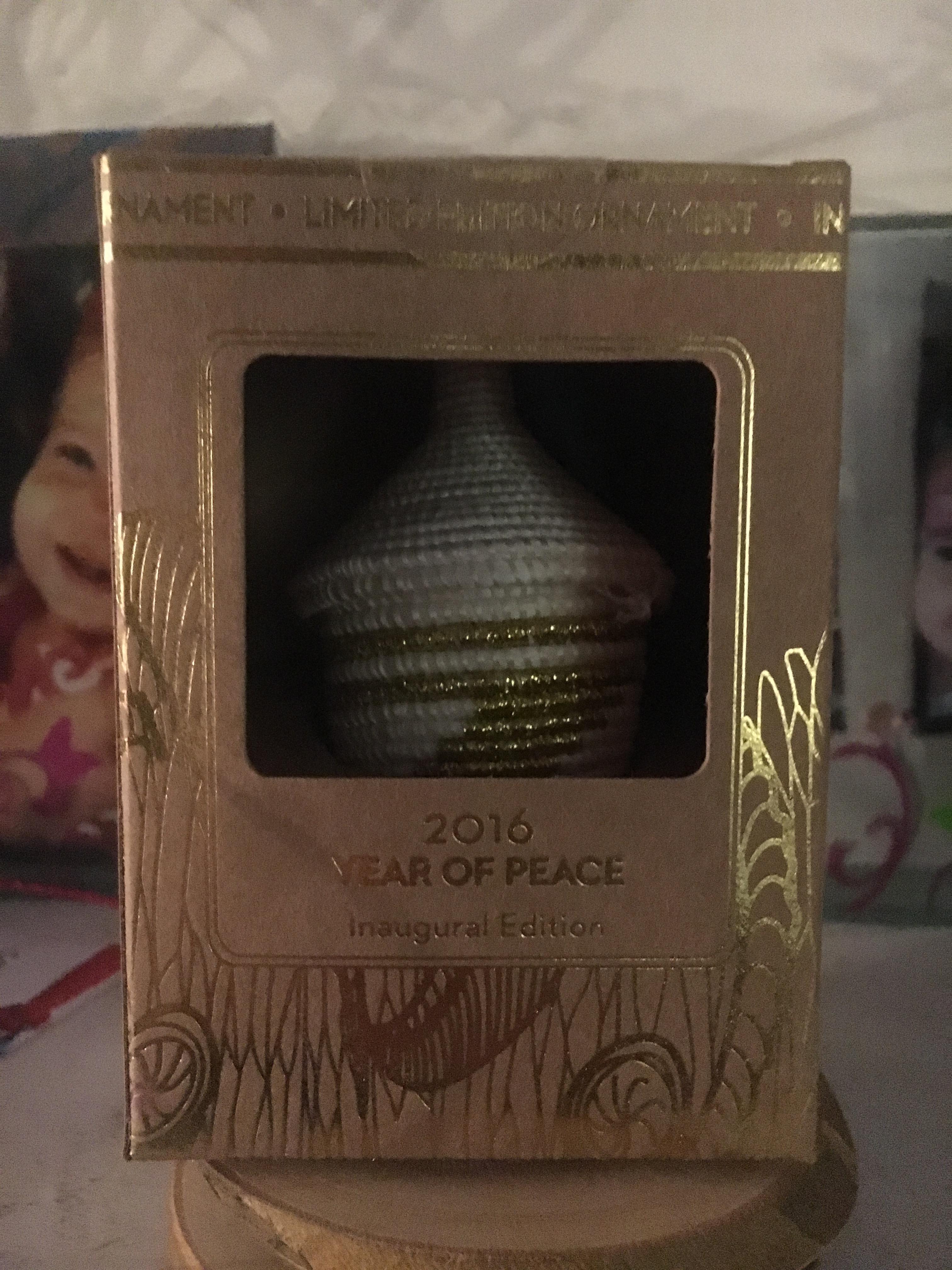 Path to Peace Rwanda Gold Ornaments