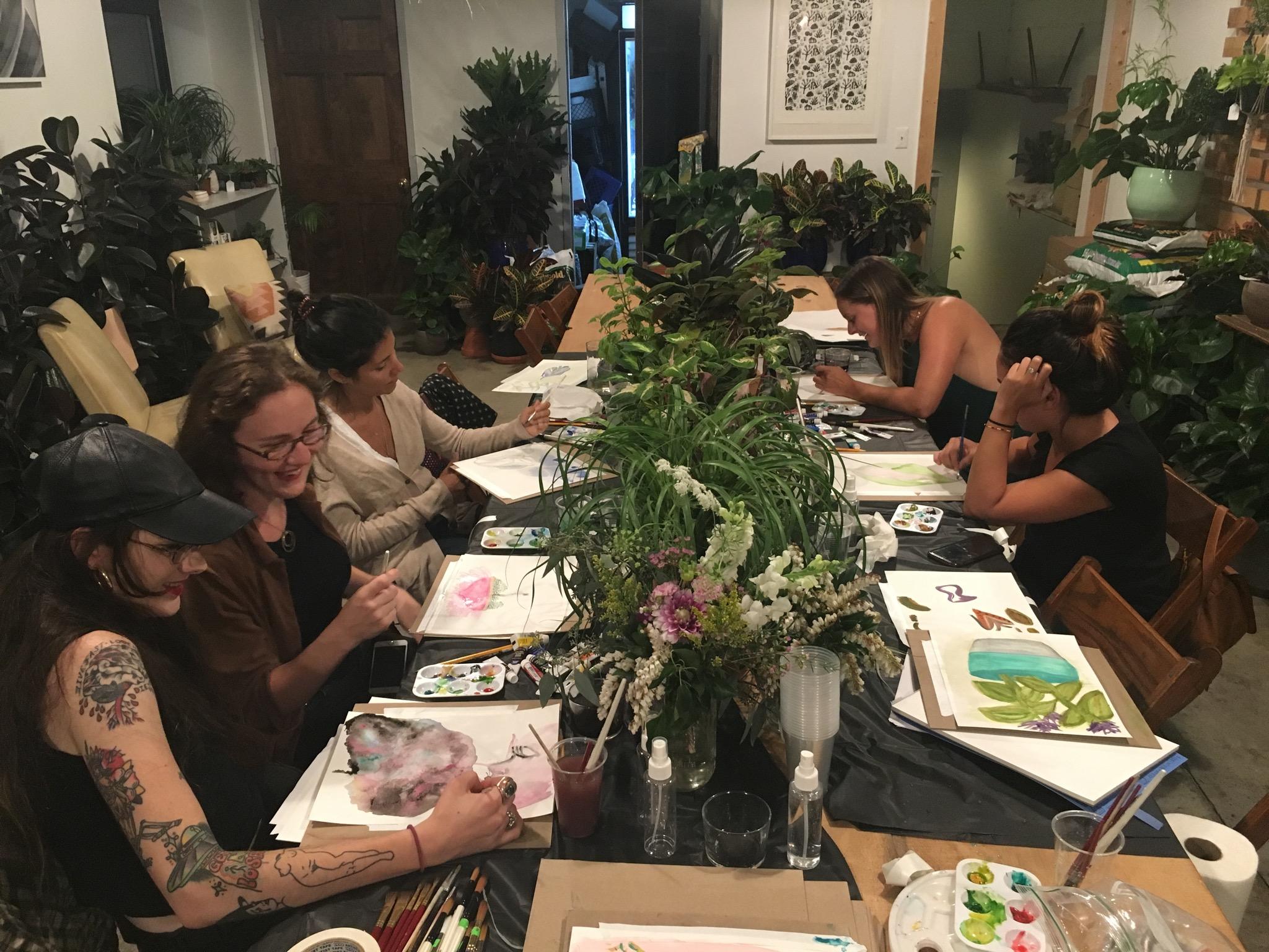 Adult Art Workshop Series in Brooklyn