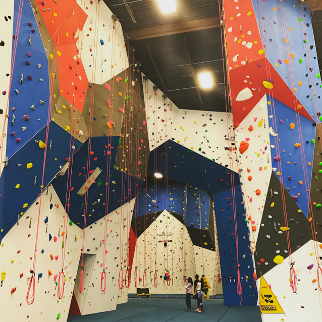 The Gravity Vault Indoor Rock Climbing Gym