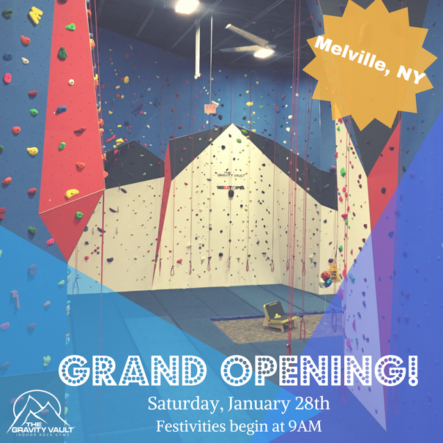 New Indoor Rock Gym on Long Island