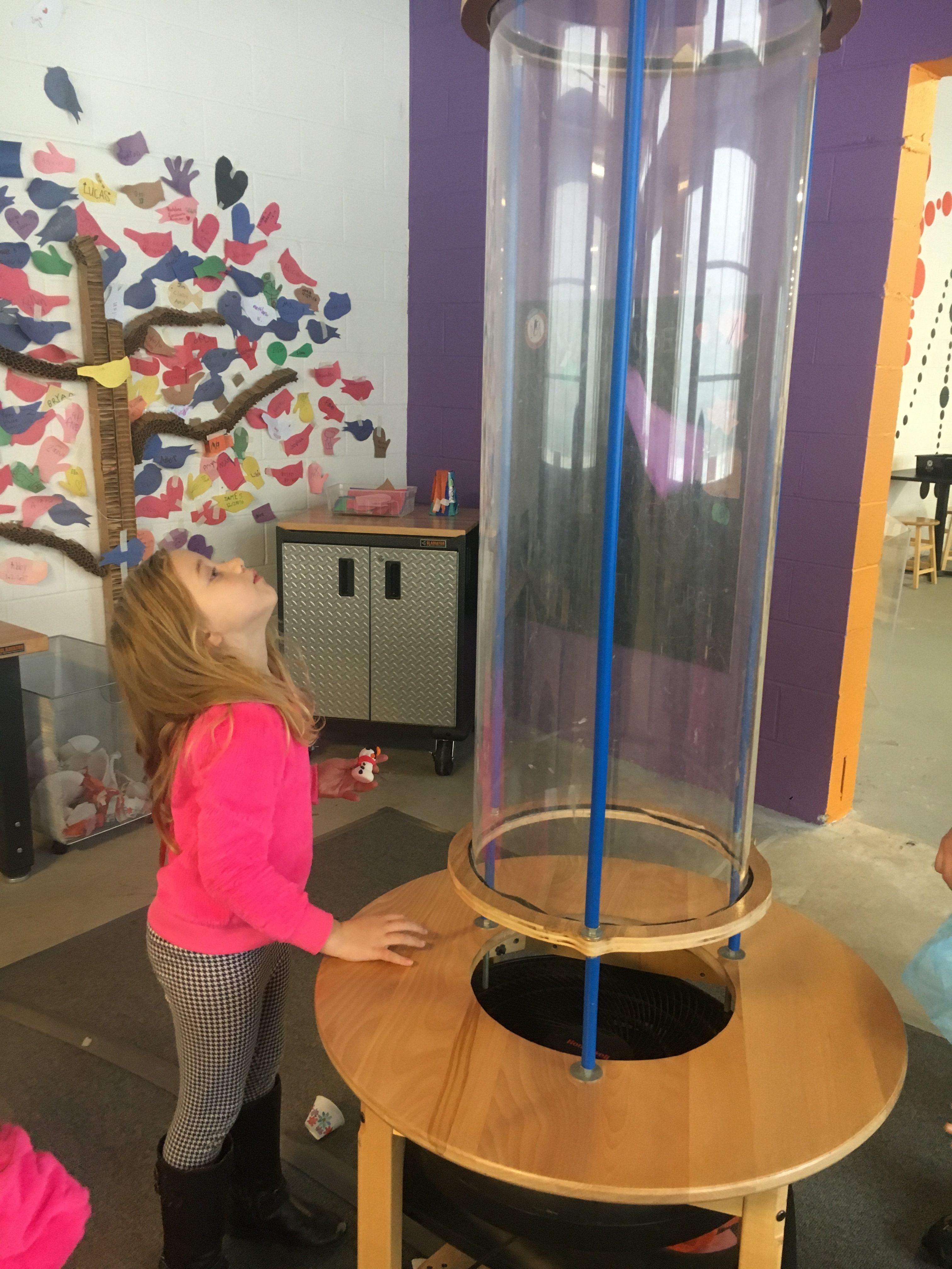 makerspace area westchester children's museum