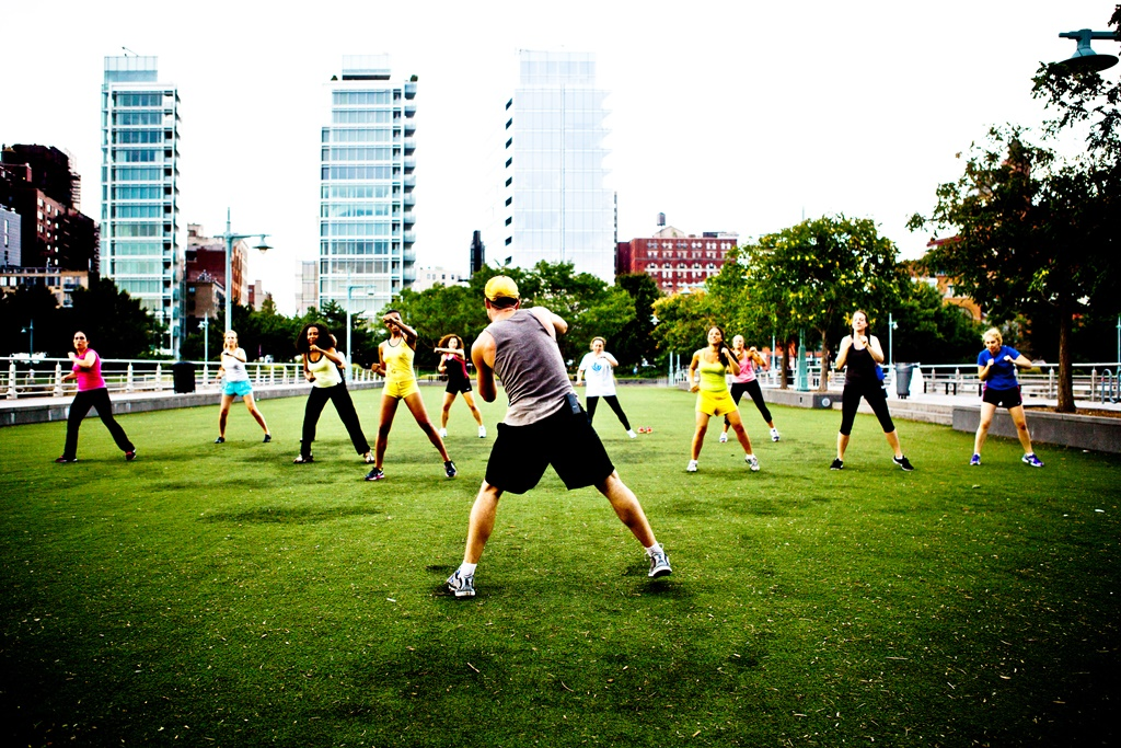 Hudson River Park Games in NYC
