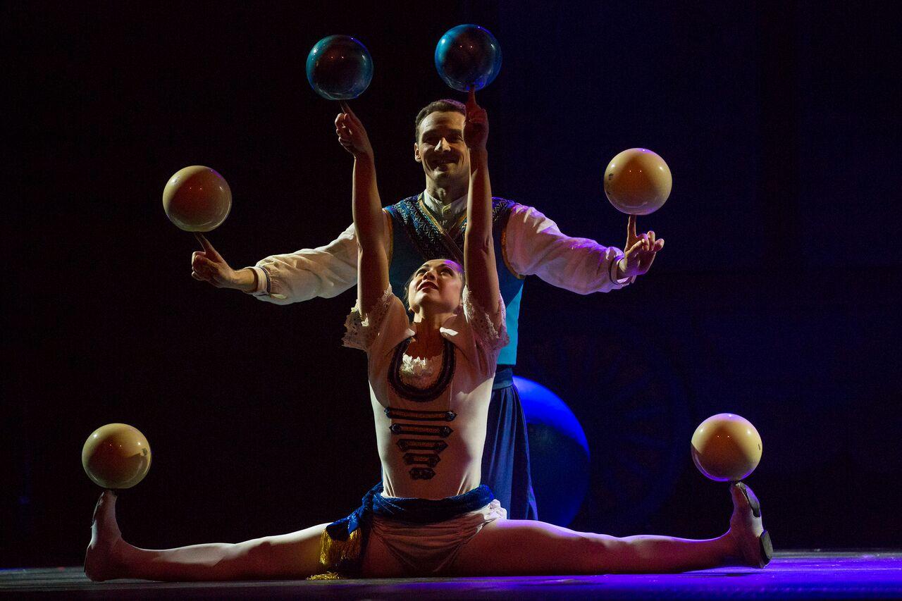 circus 1903 performers