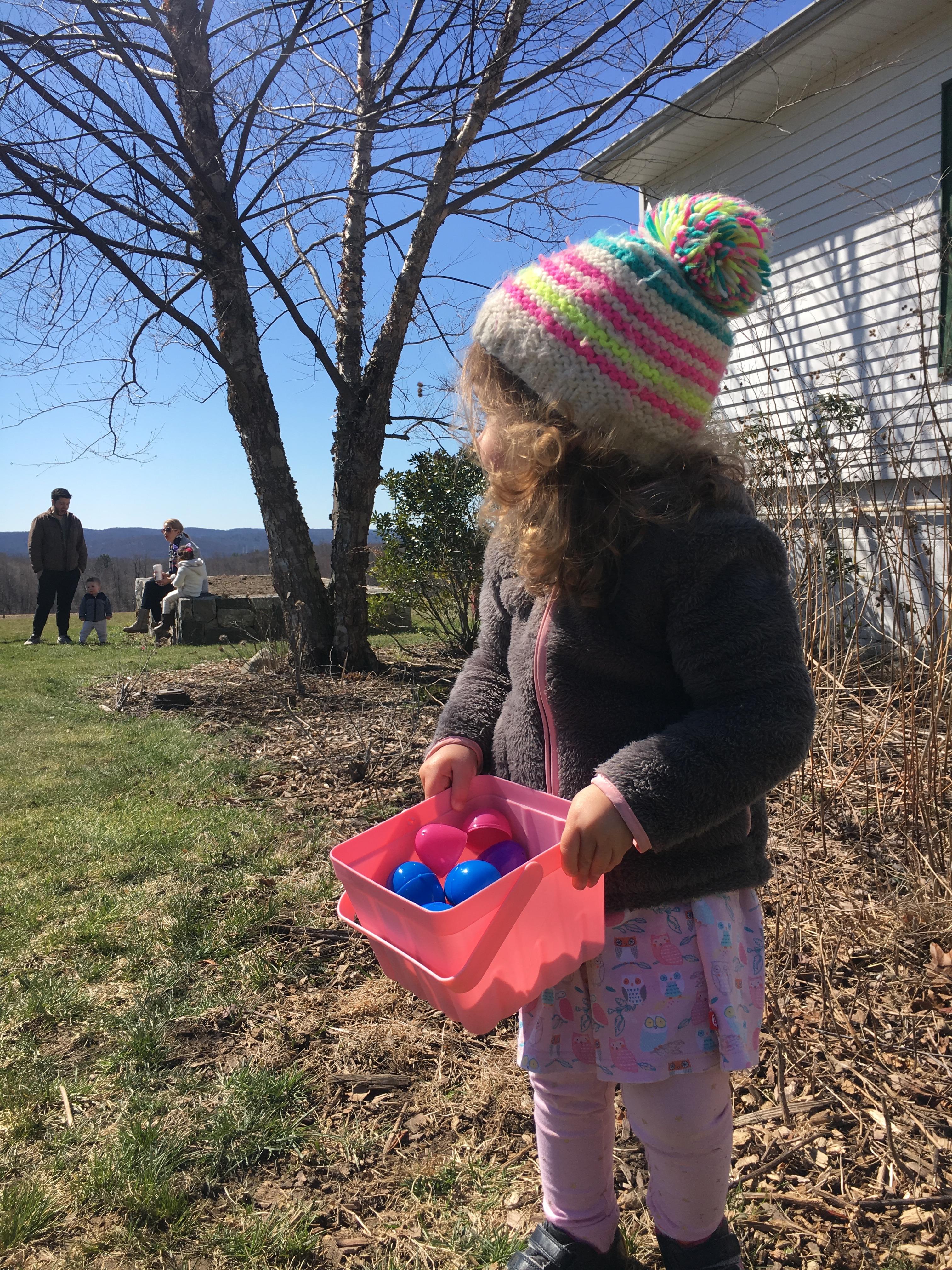 hilltop hanover farm: easter egg fun