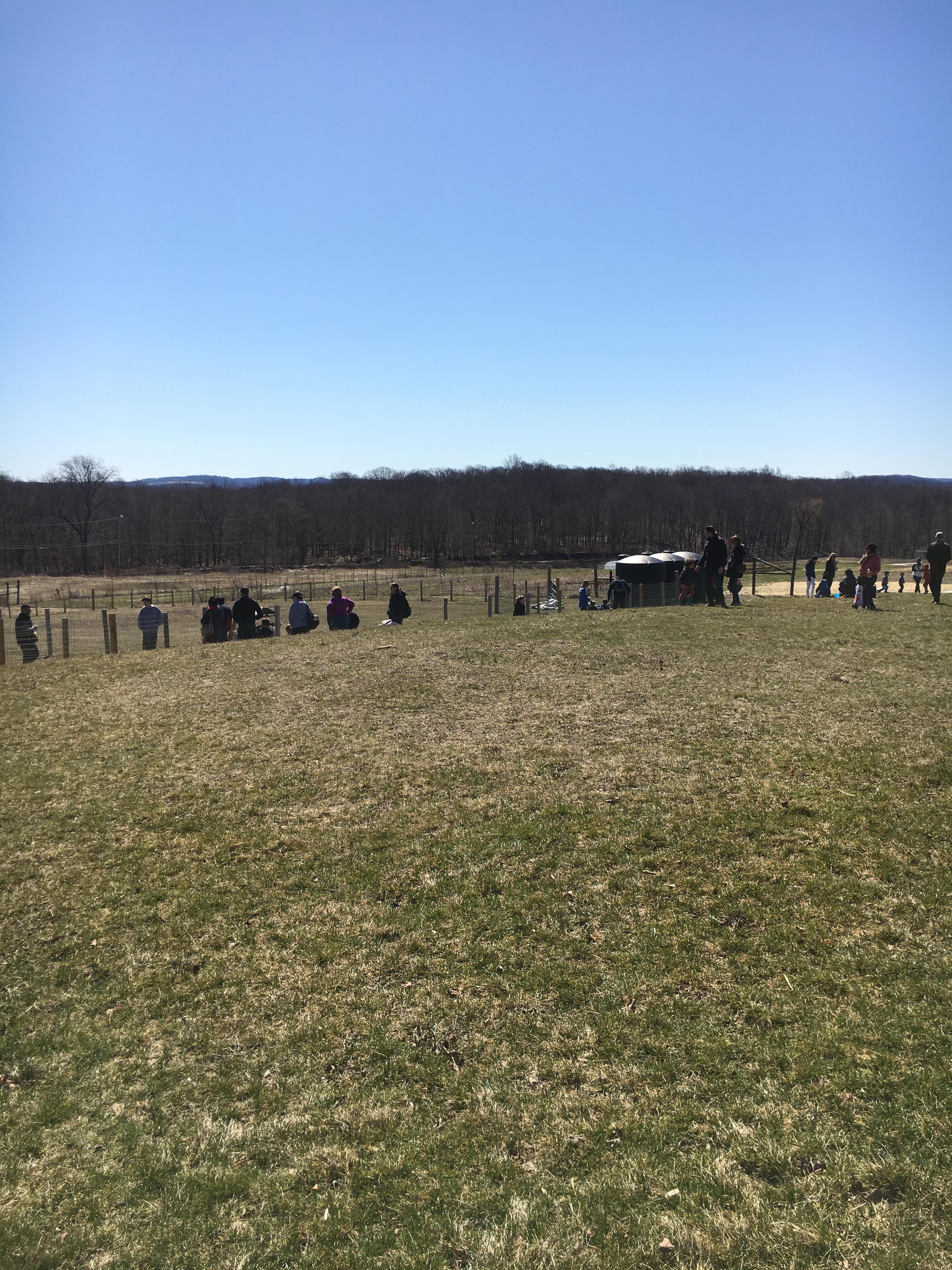 Hilltop Hanover Farm easter egg hunt