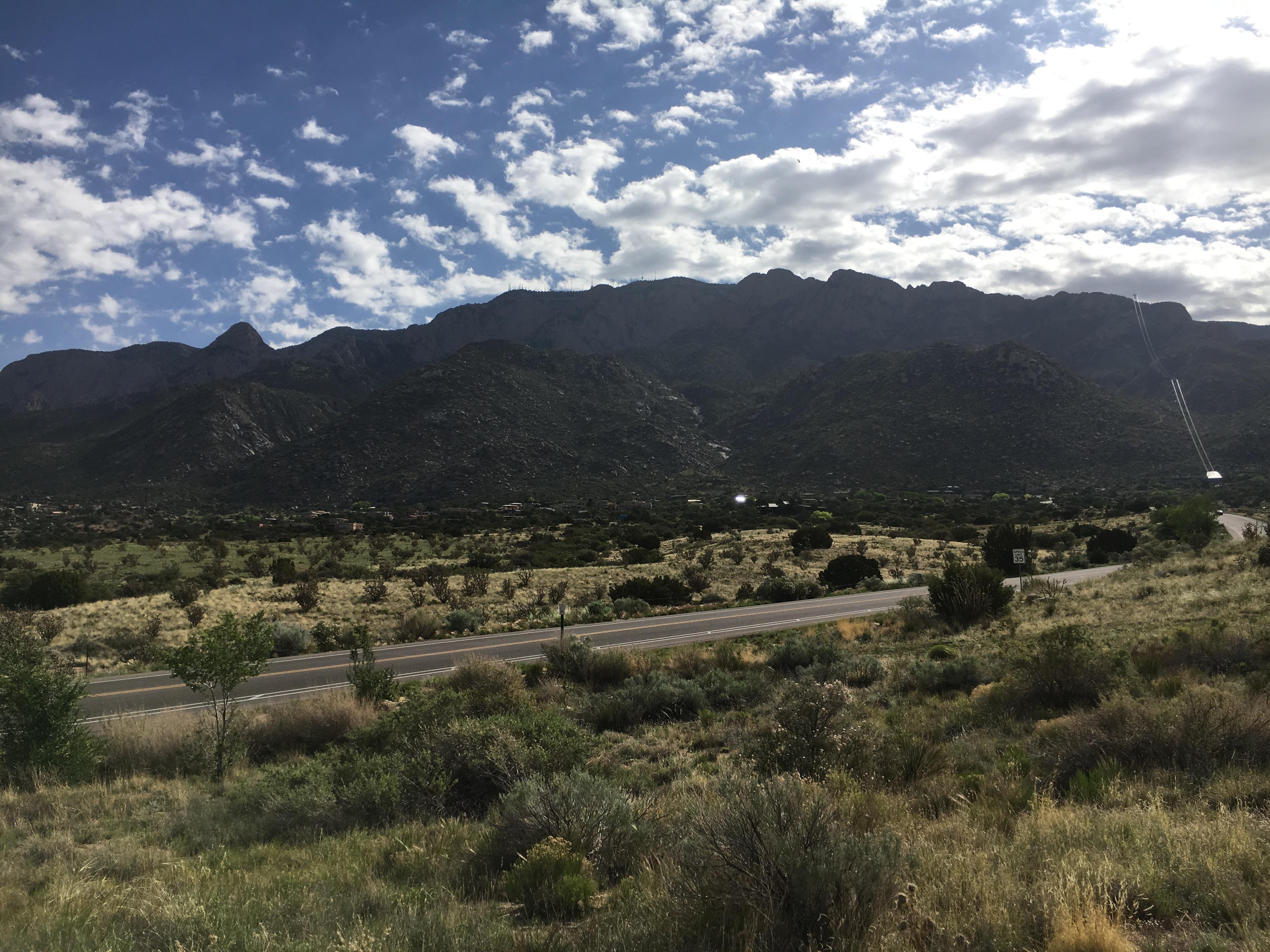 sandia peak: new mexico