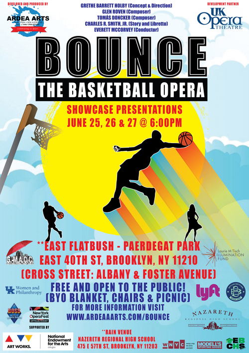 bounce the basketball opera in NYC