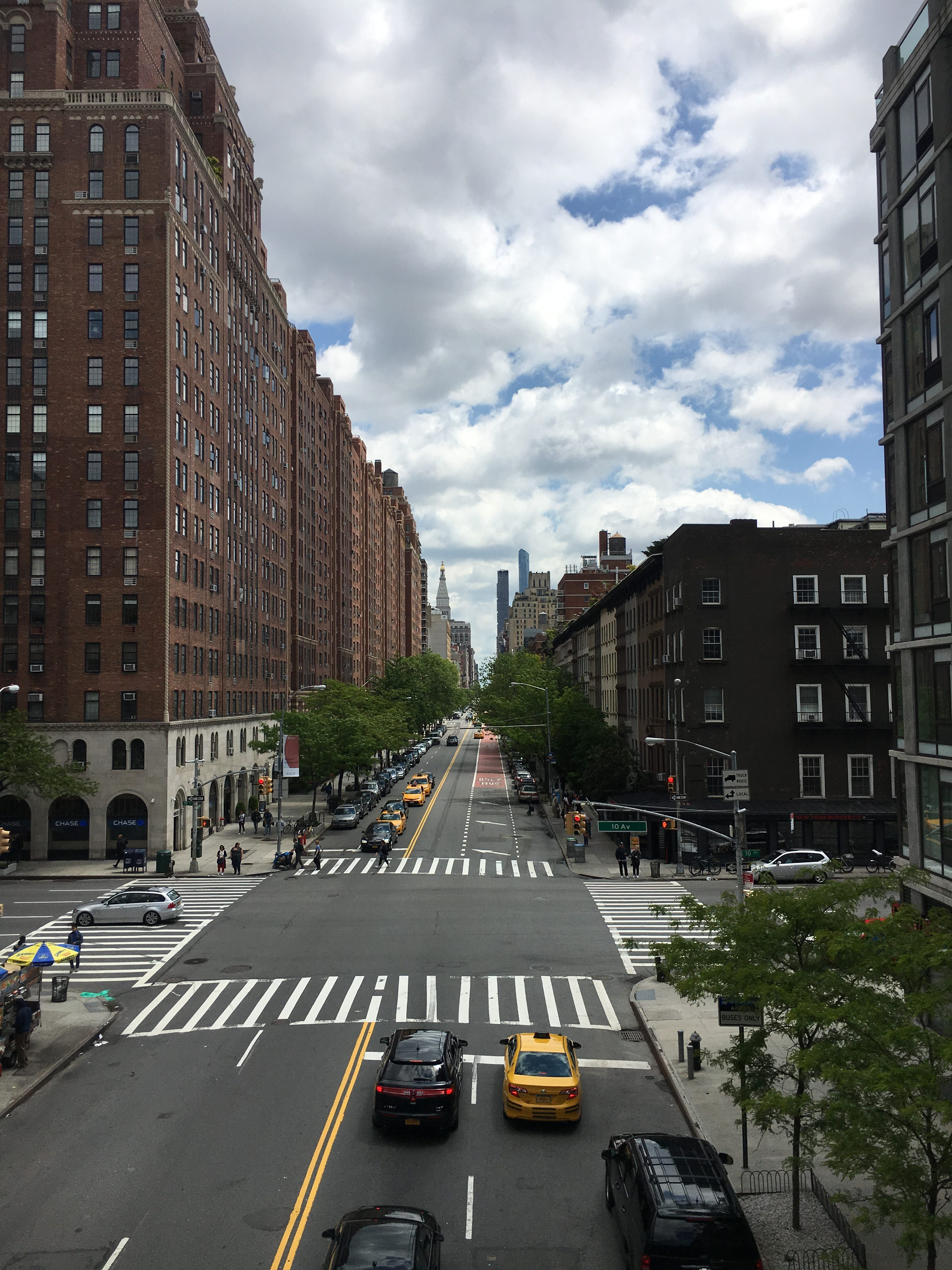 high line nyc for families