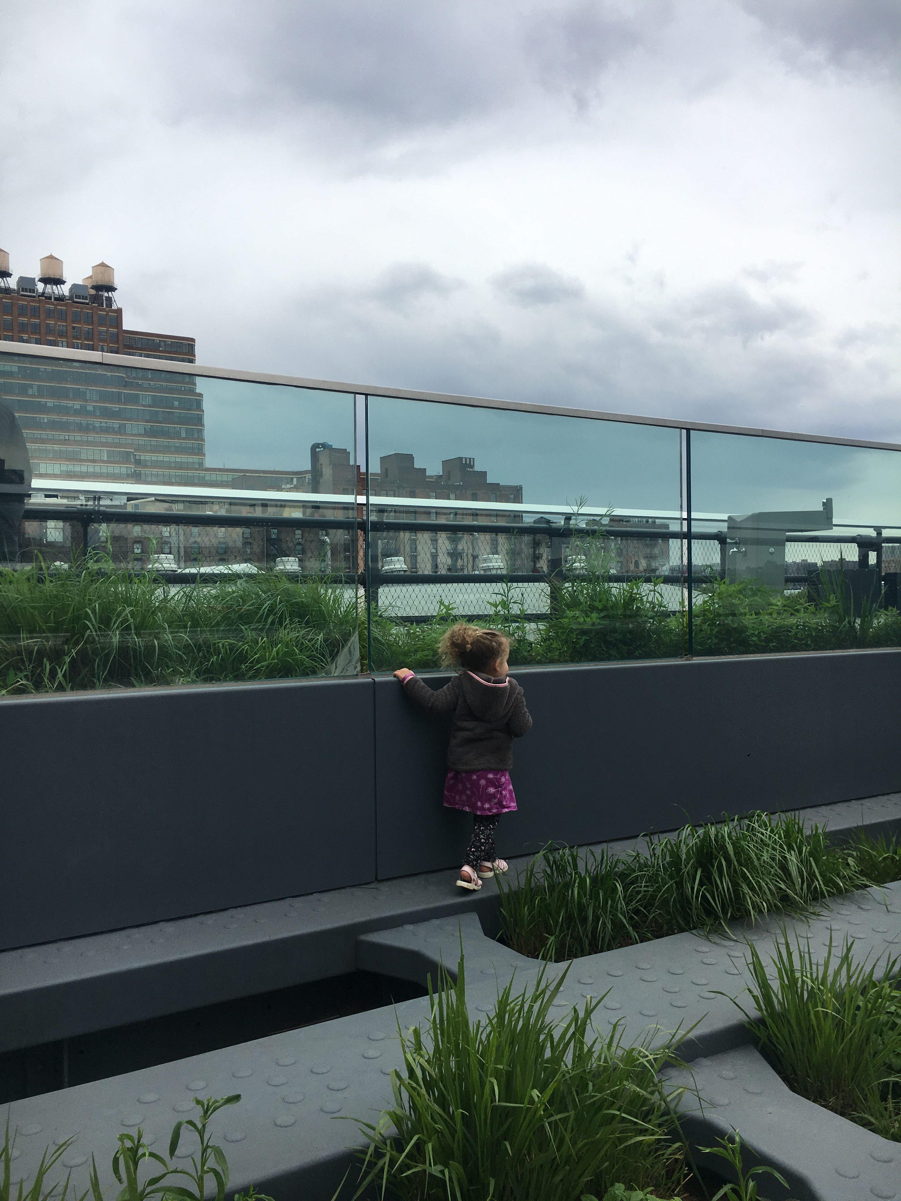 high line nyc: Pershing Square Beams