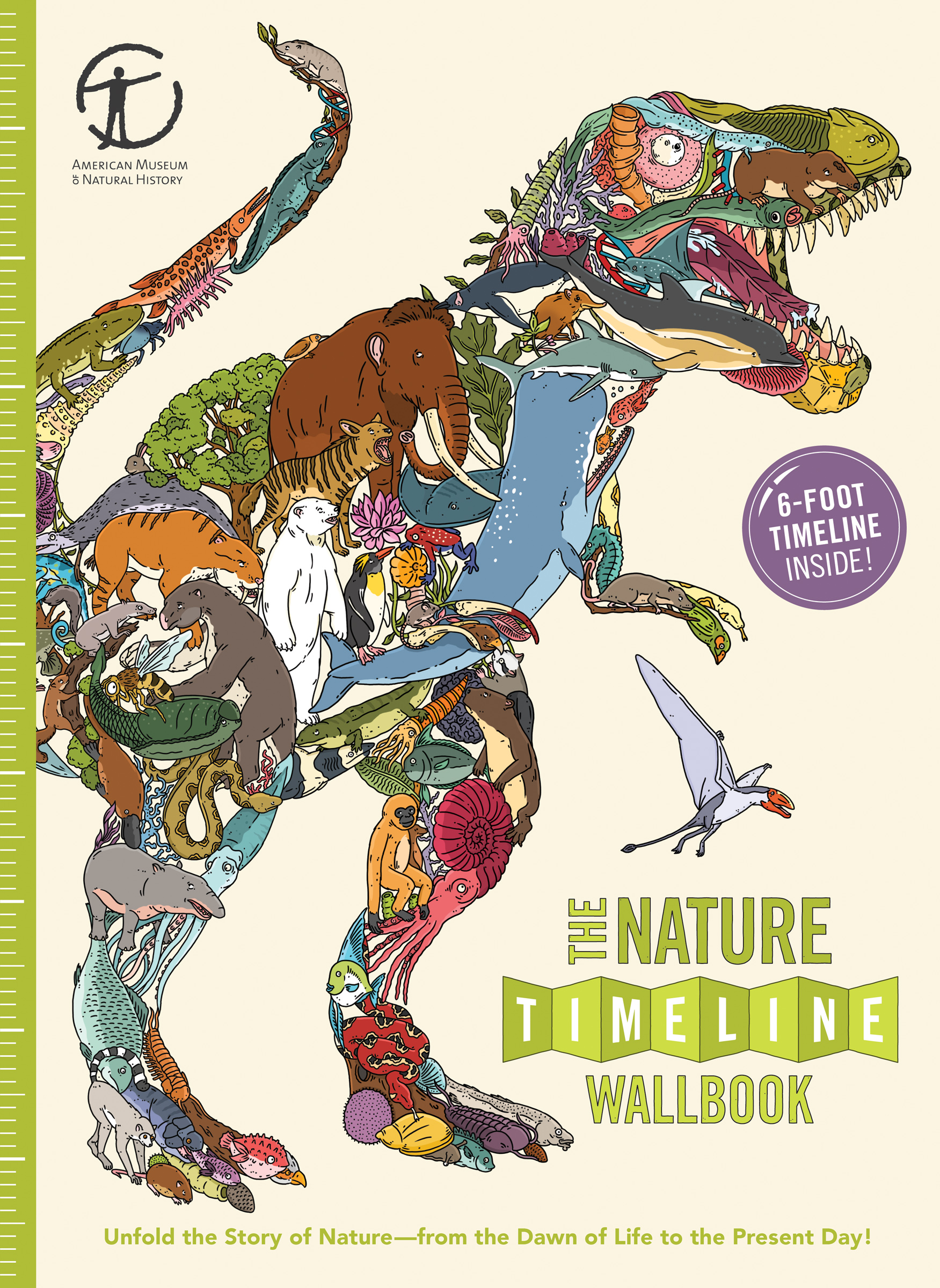 new book the nature timeline wallbook