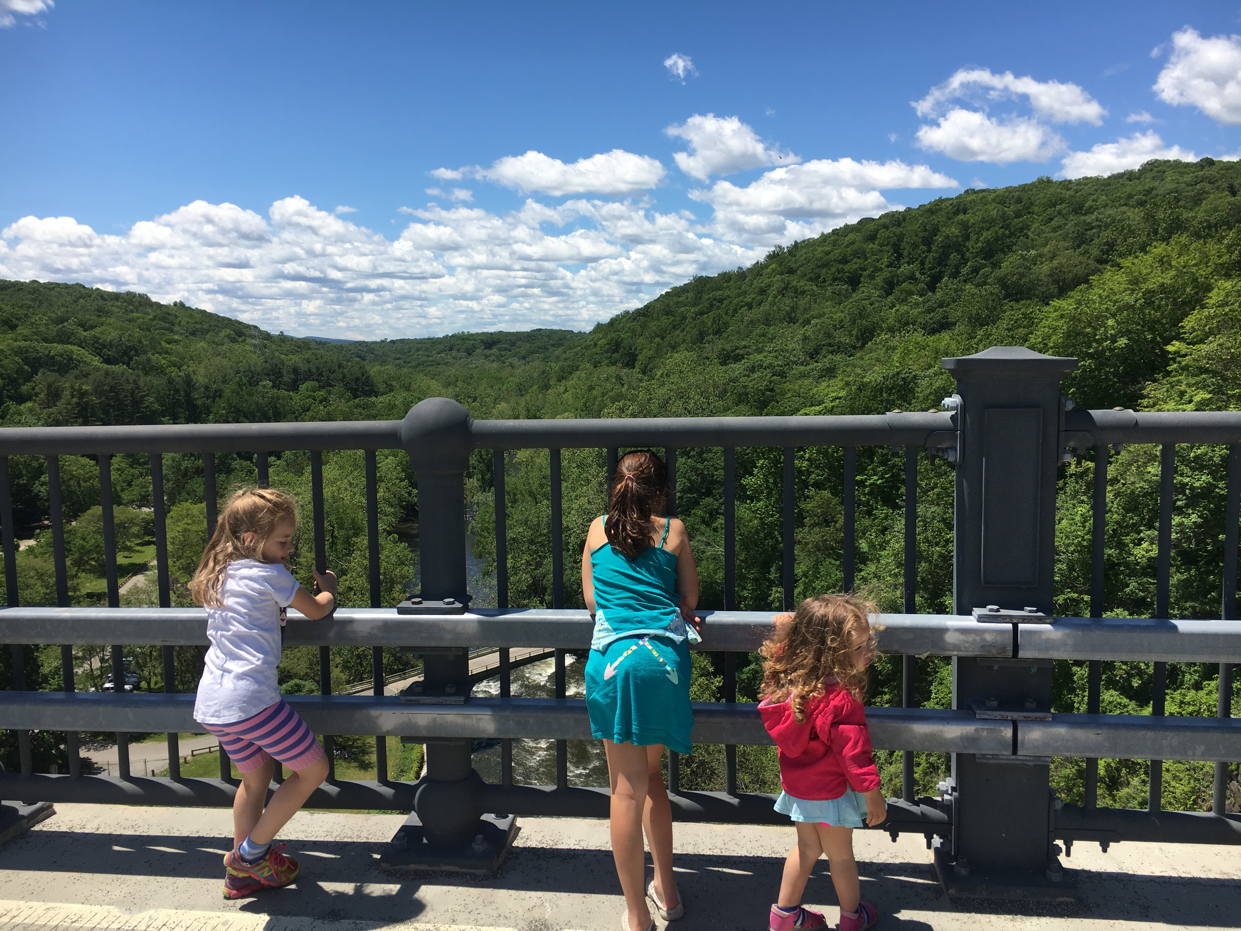 croton gorge park views