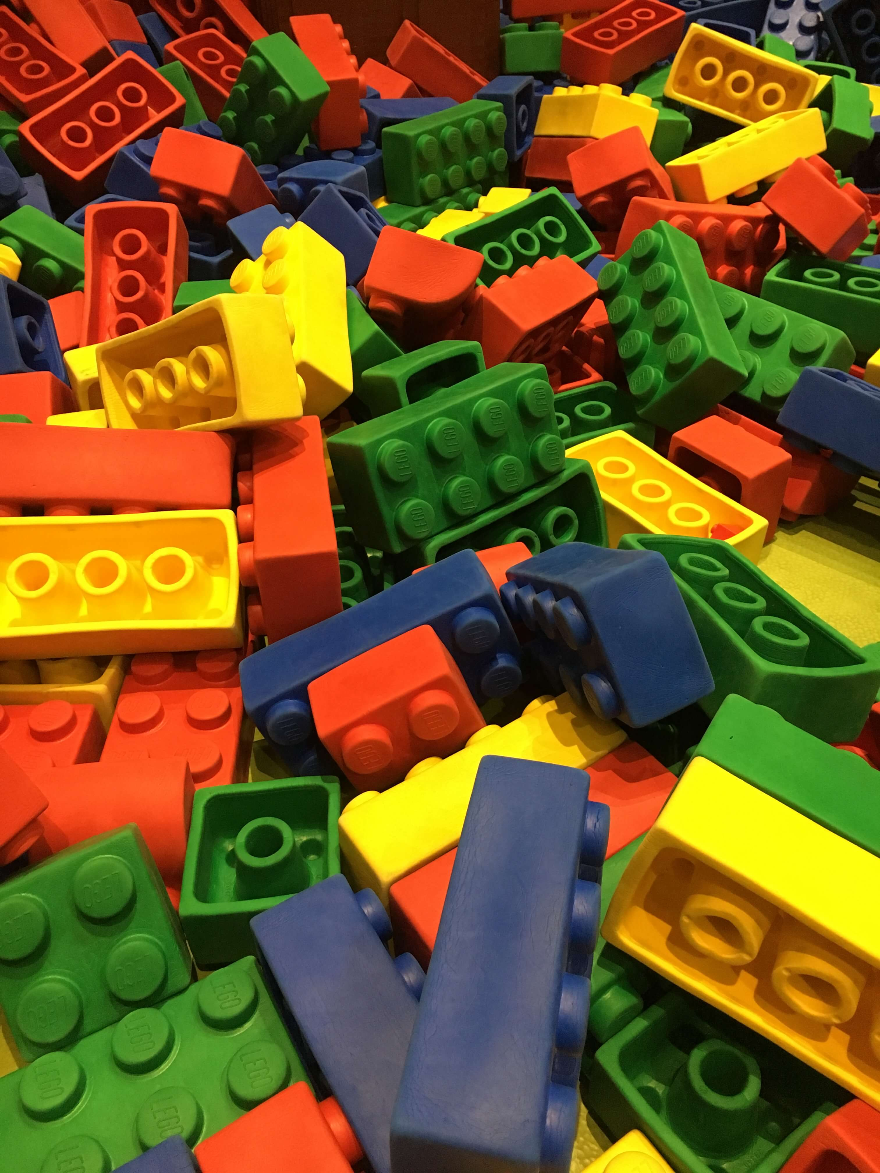 bricks at LEGOLAND Discovery Center Westchester