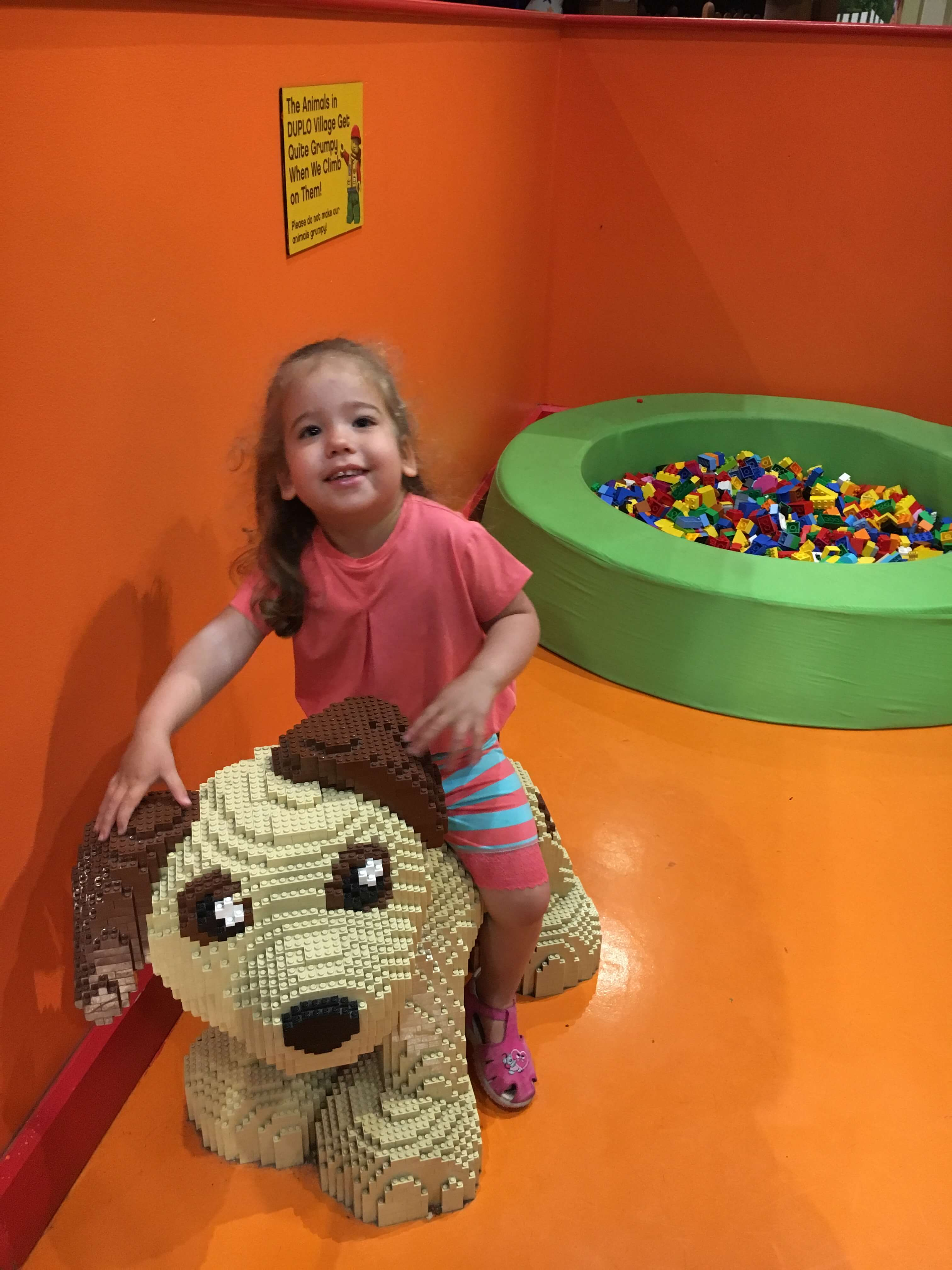 duplo village at LEGOLAND Discovery Center Westchester