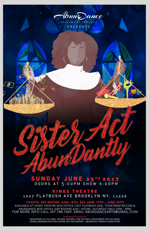 Sister Act, AbunDantly! in Brooklyn