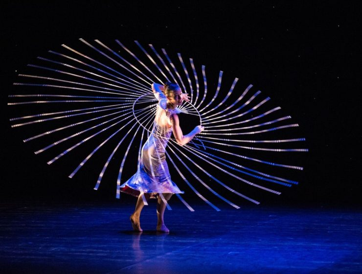 MOMIX, the company of dance illusionists, brings its latest mix of multi-media magic to New York this summer at The Joyce Theater in New York City from July 24 – August 12.
