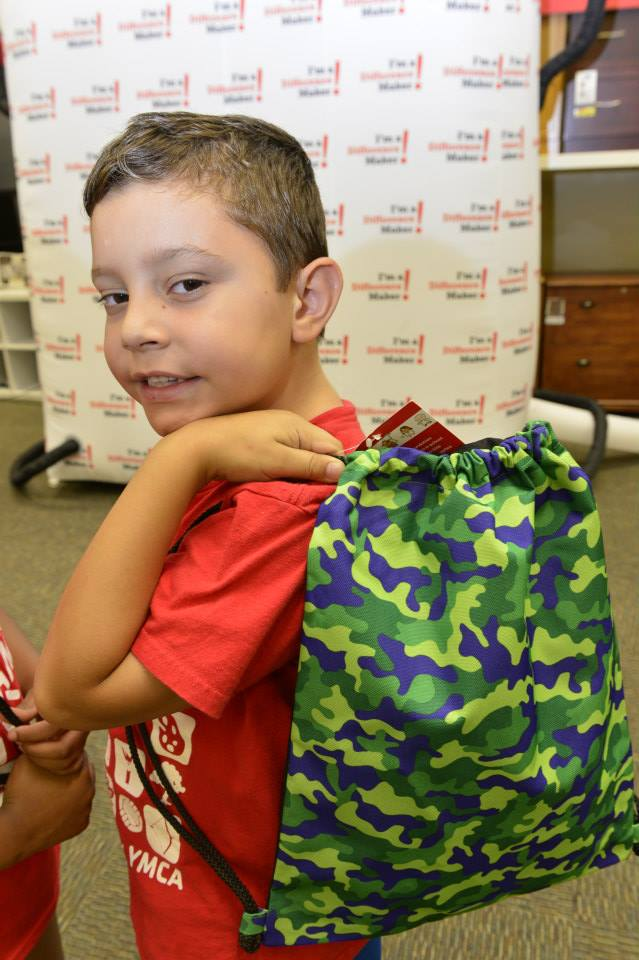National Backpack Program from Office Depot for kids