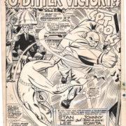 original spider-man artwork