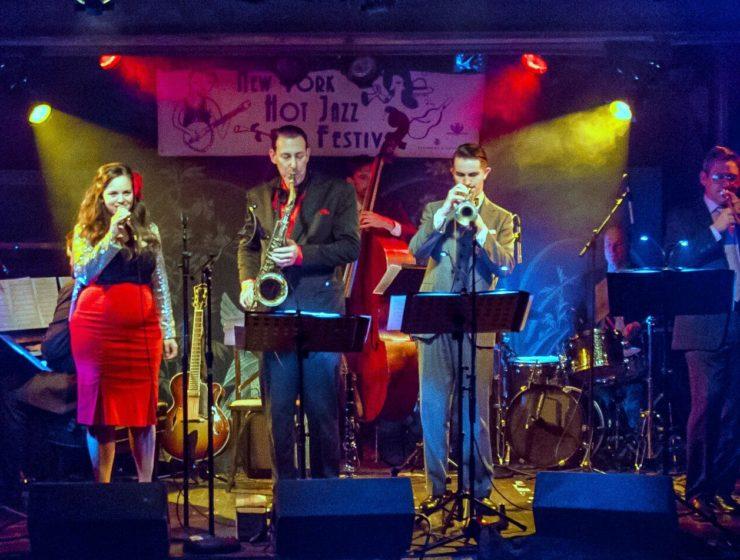 Dan Levinson concert in Brooklyn