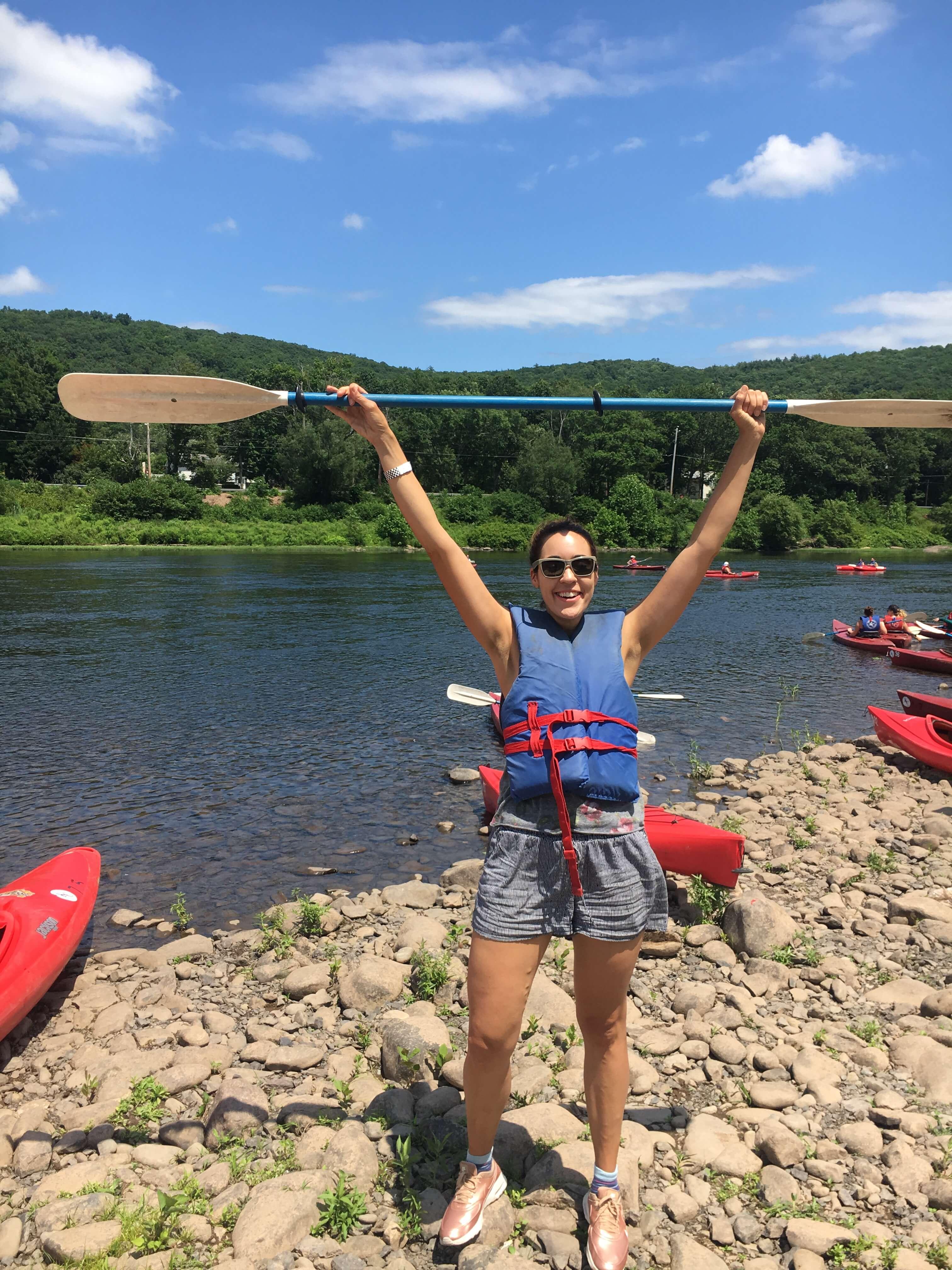 day trip at Kittatiny Canoes PA