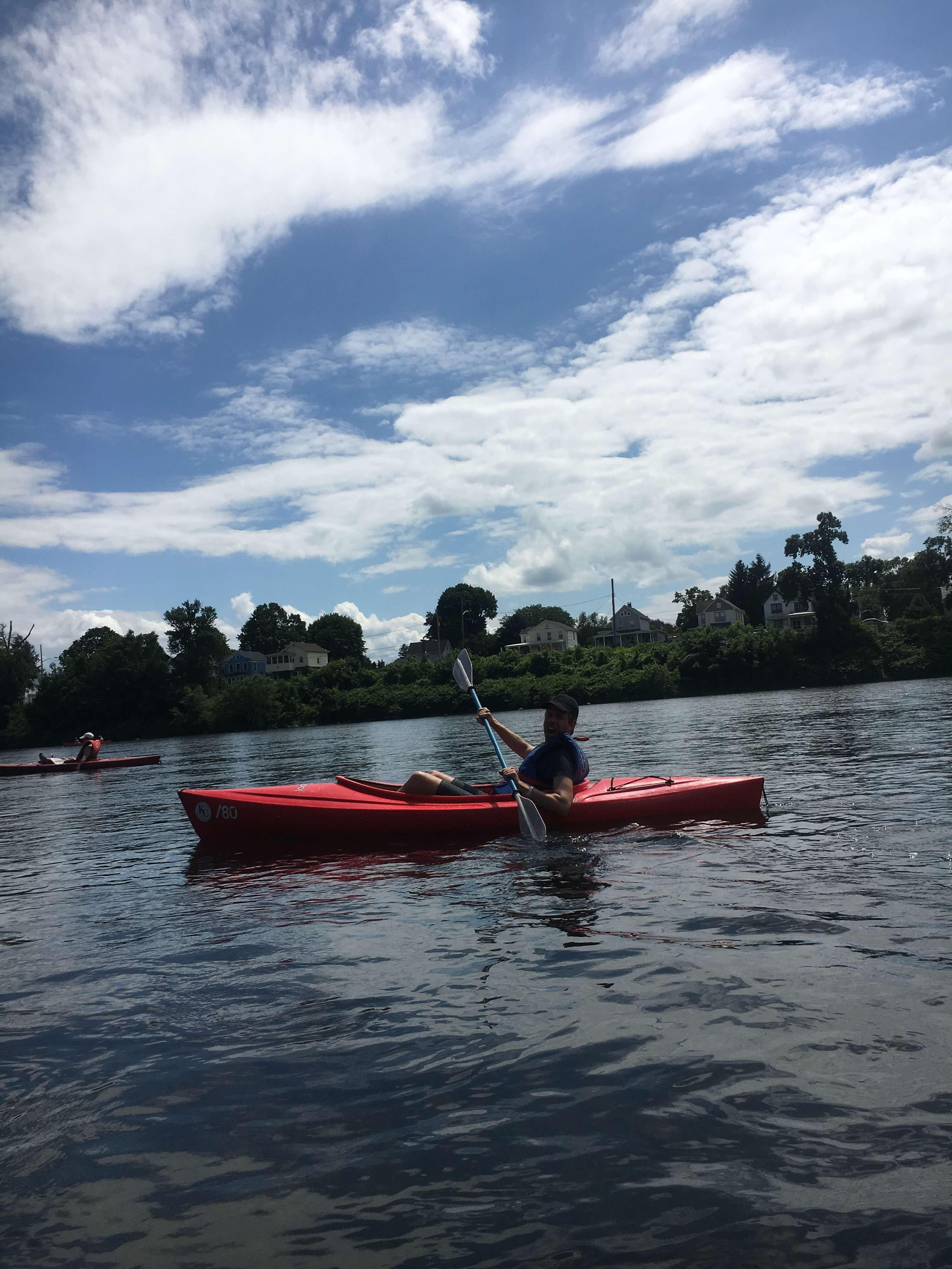 day trip kayaking in PA