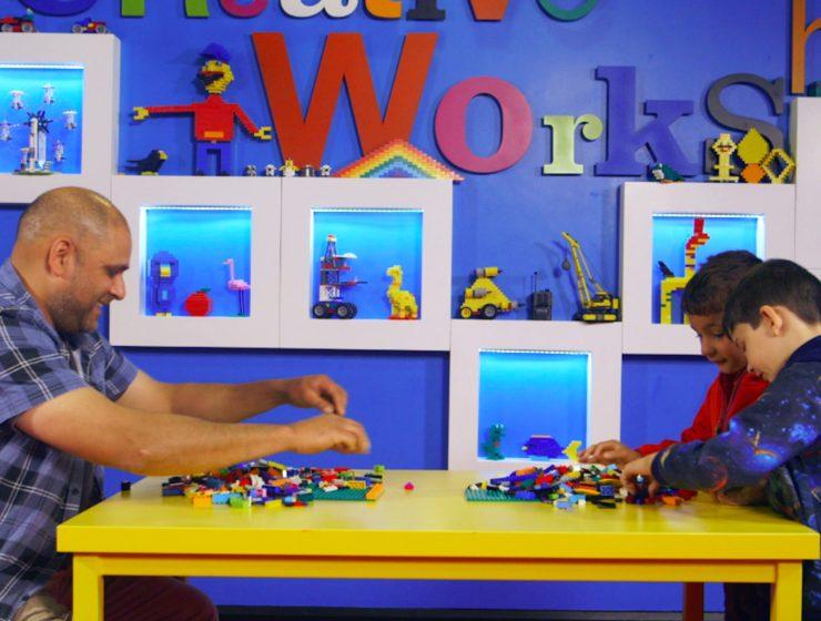 Kids vs. Grown-Ups Imagination Build-Off Challenge