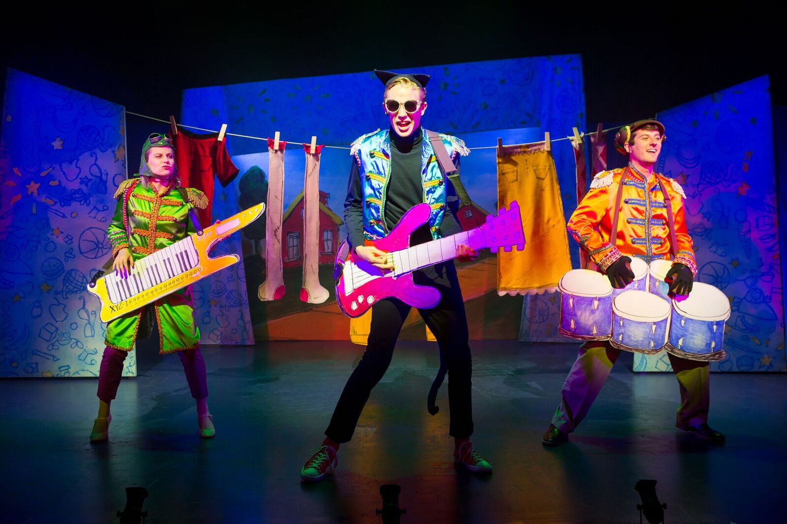 Pete the Cat musical nyc