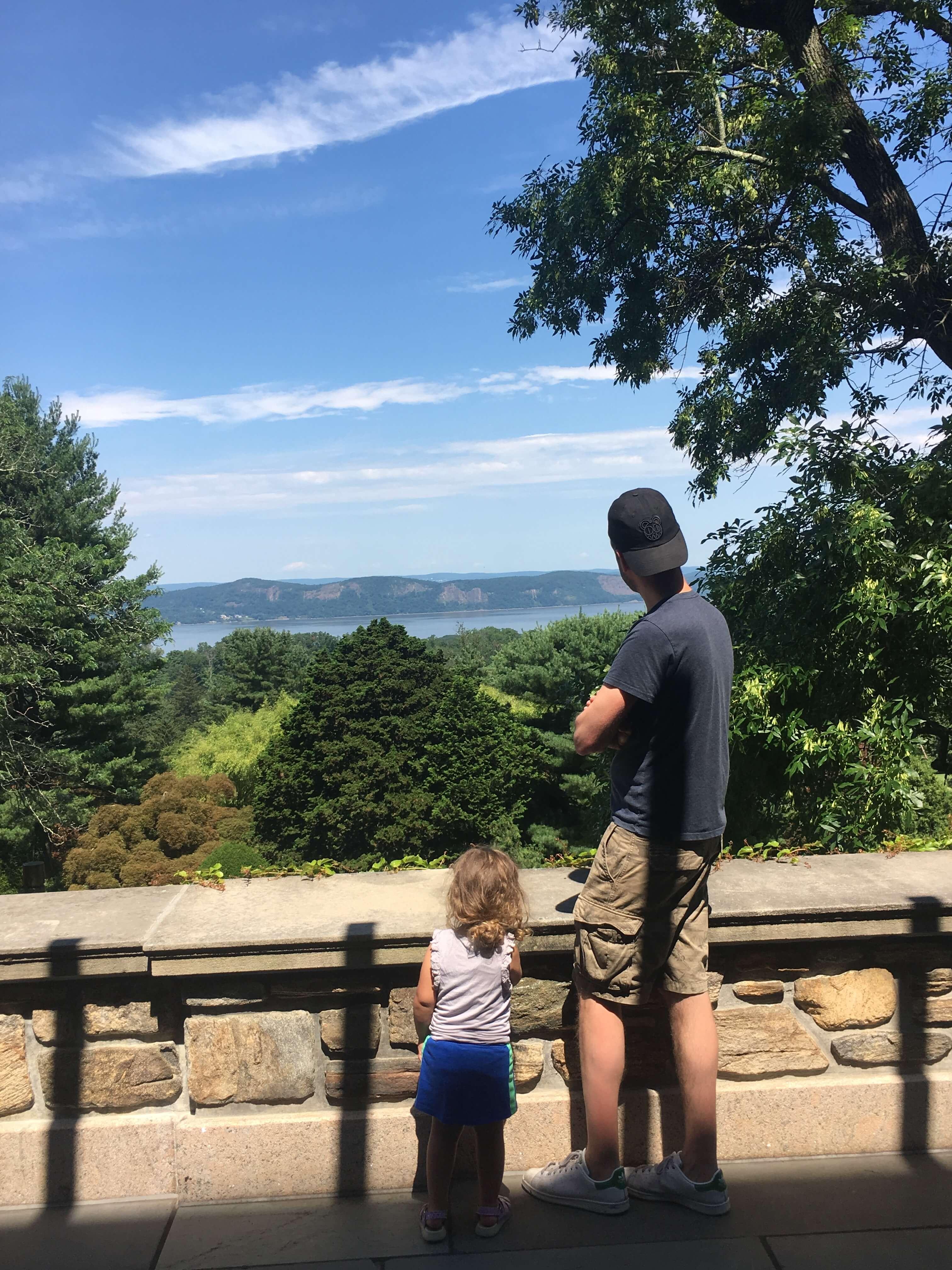 Kykuit views of hudson valley