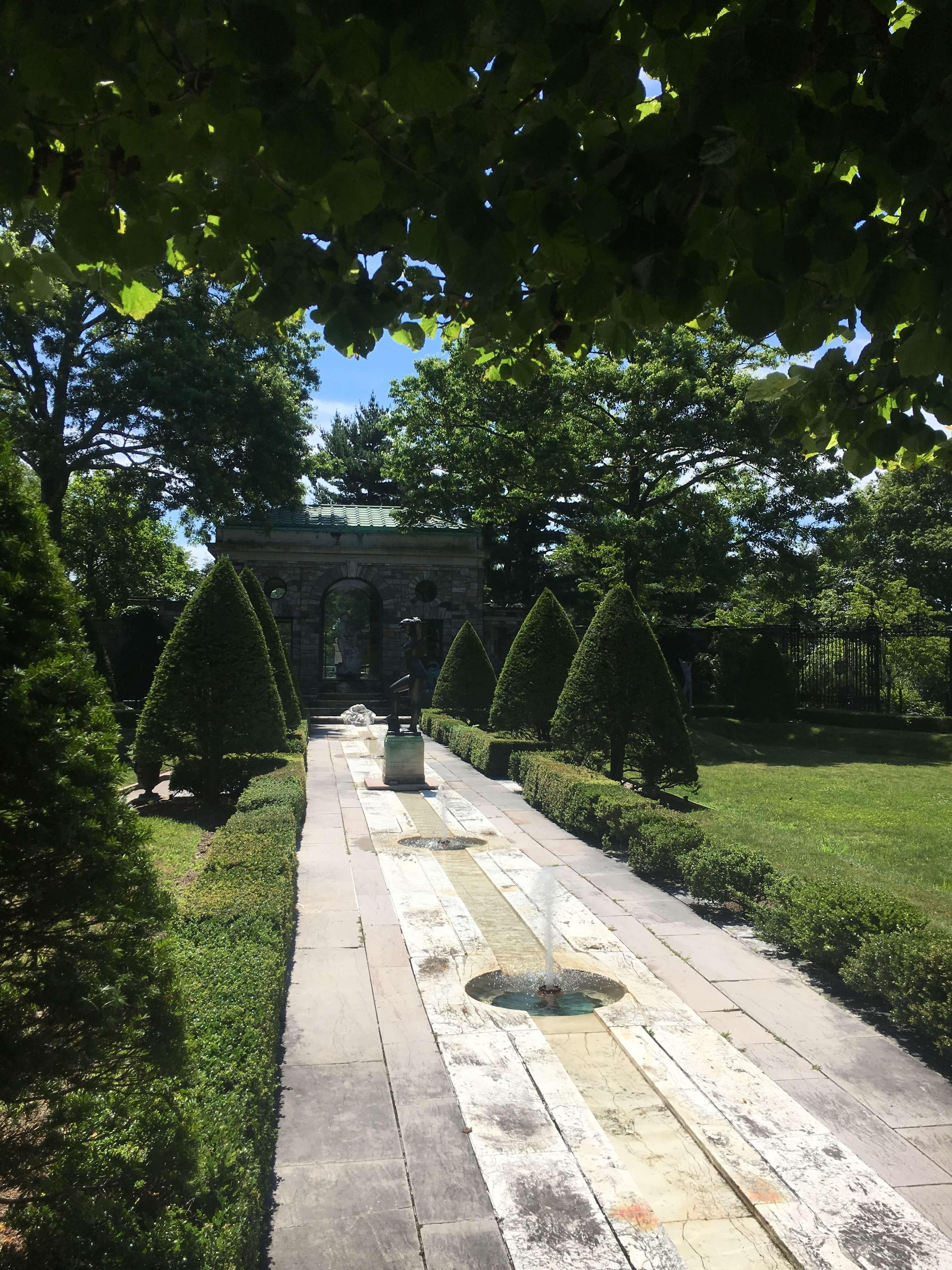 kykuit estate greenery