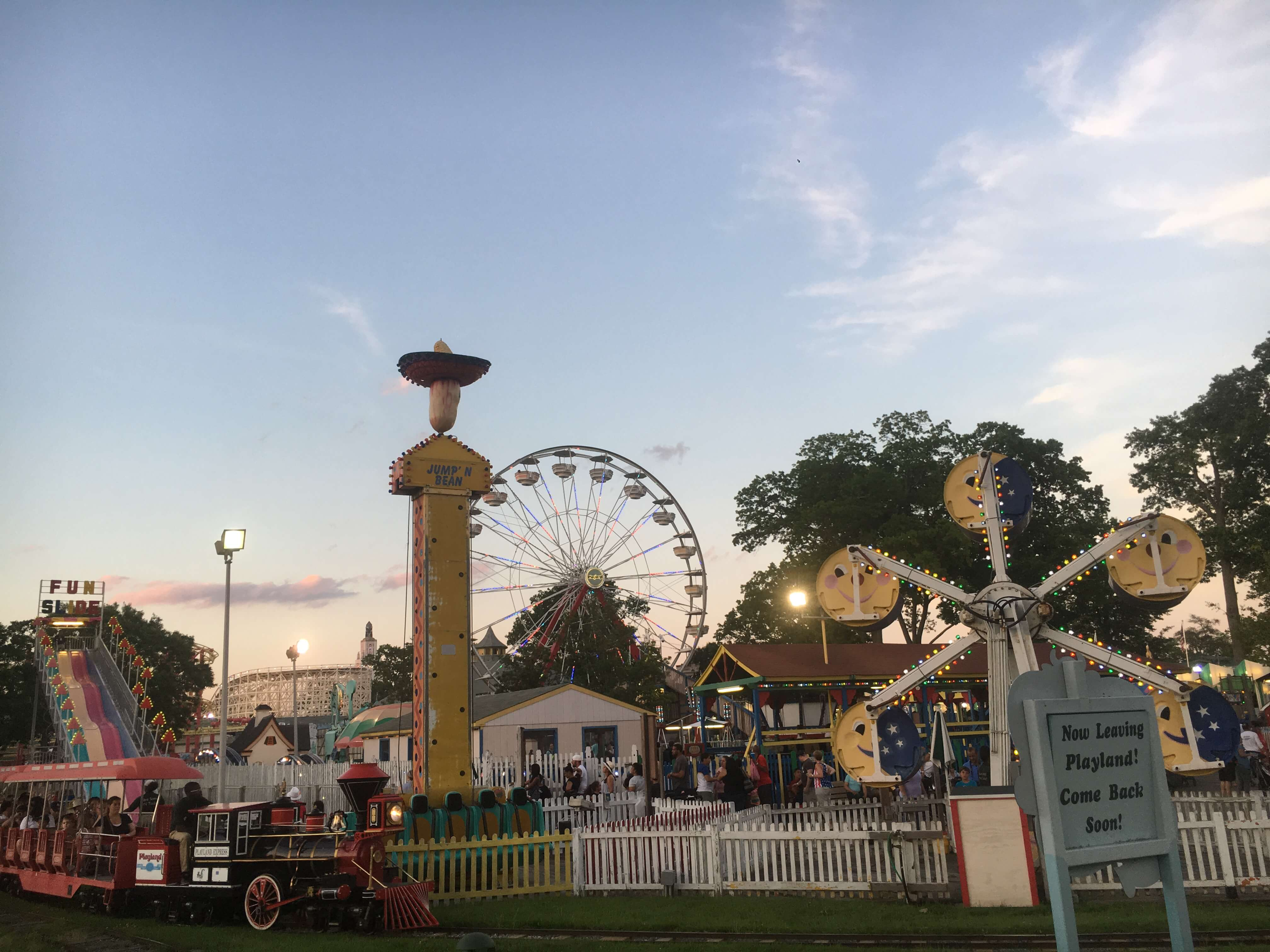 playland park in rye