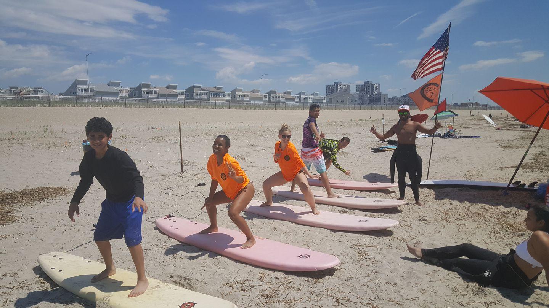 Sierra Surf School surfing lessons