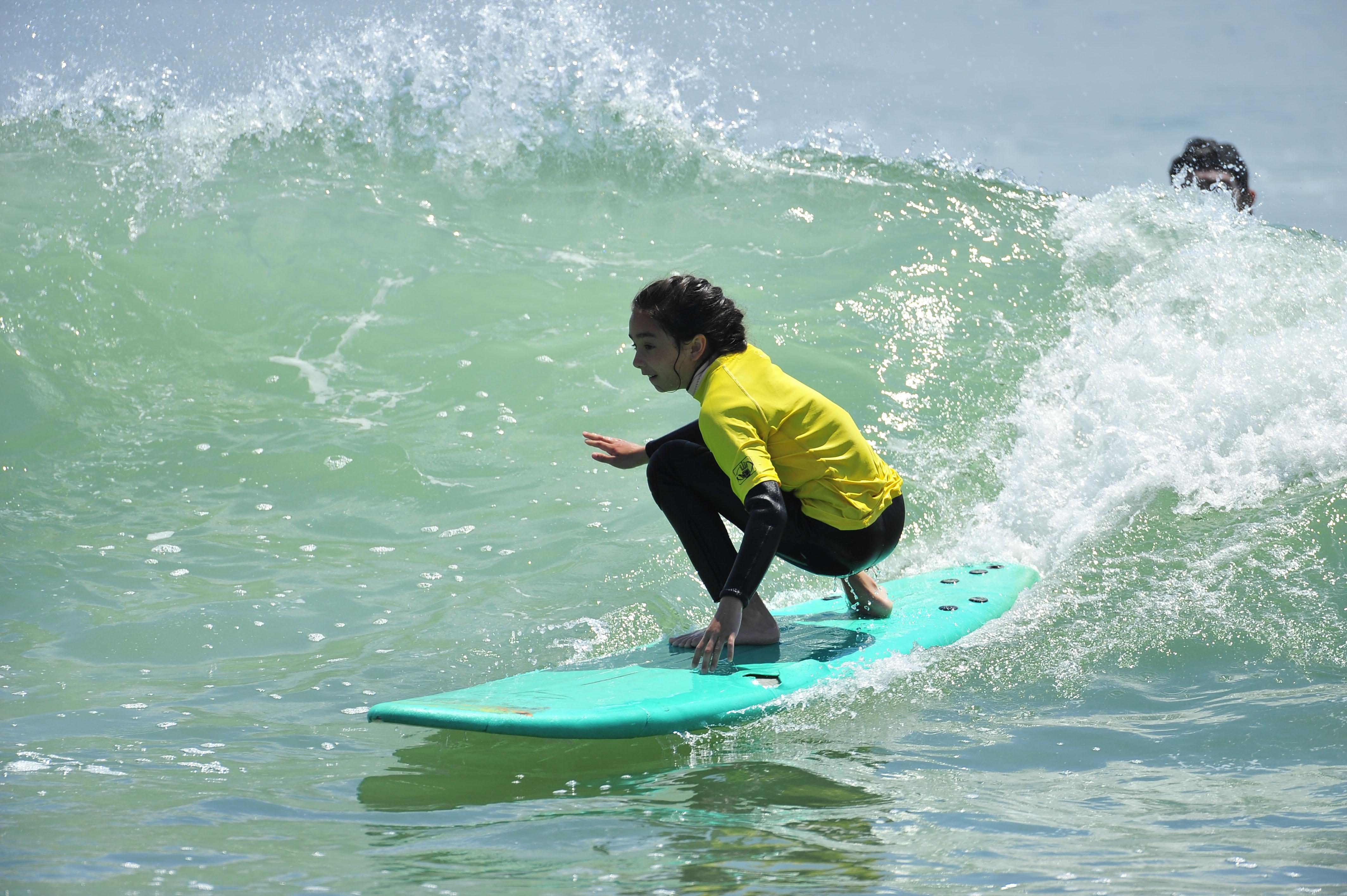 Summertime Surf Camp surf lessons