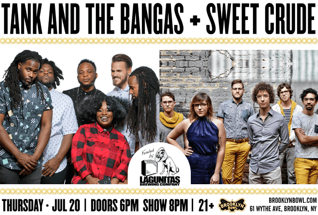 Tank and The Bangas + Sweet Crude