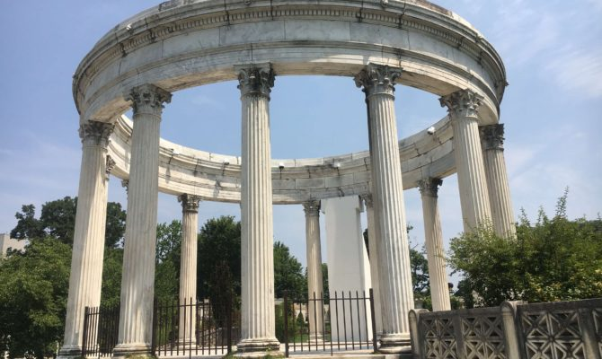 Day Trip to the Untermyer Gardens Conservatory temple